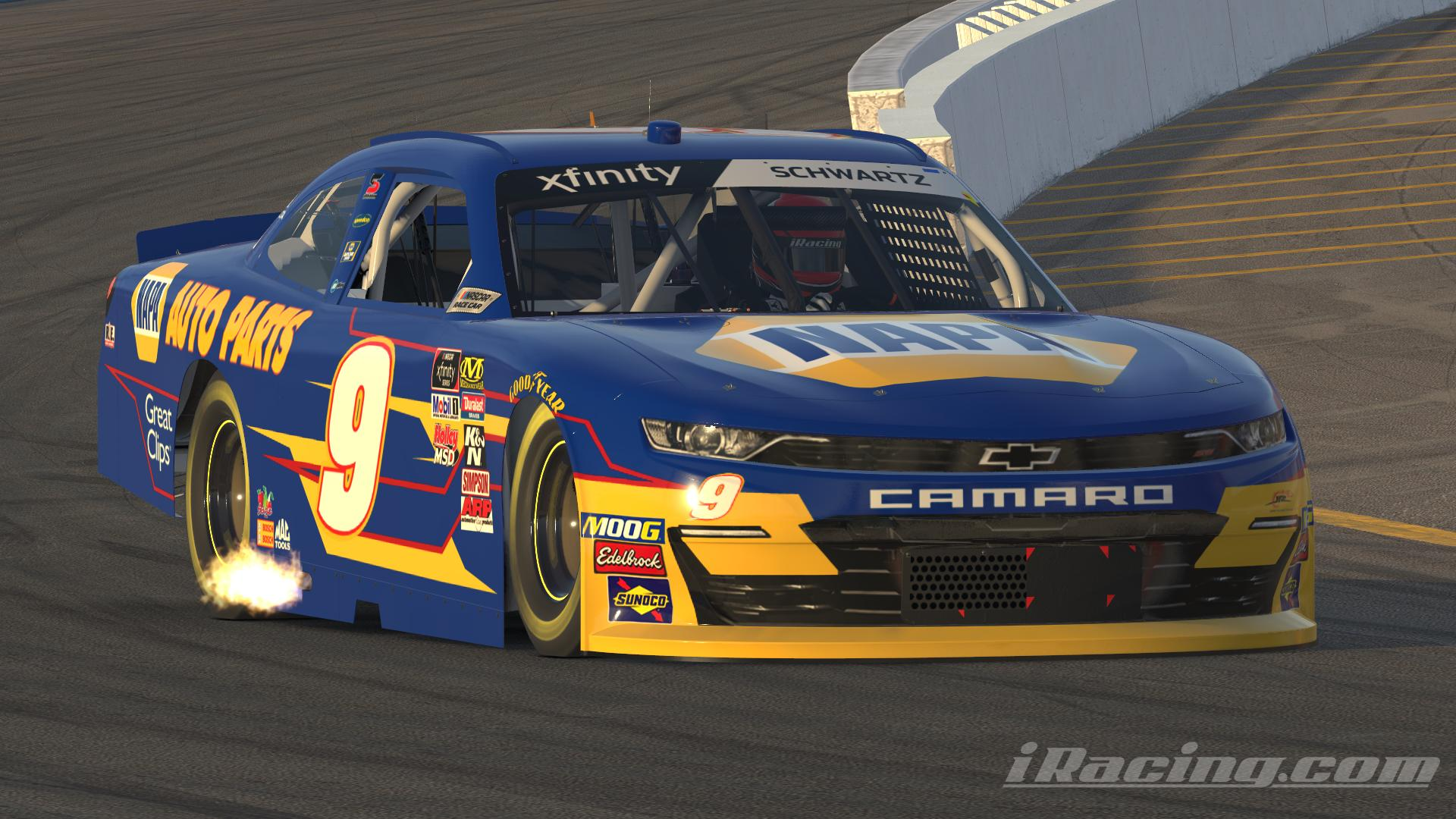 Preview of Chase Elliott 2014 Napa Camaro No Number by Andrew Schwartz