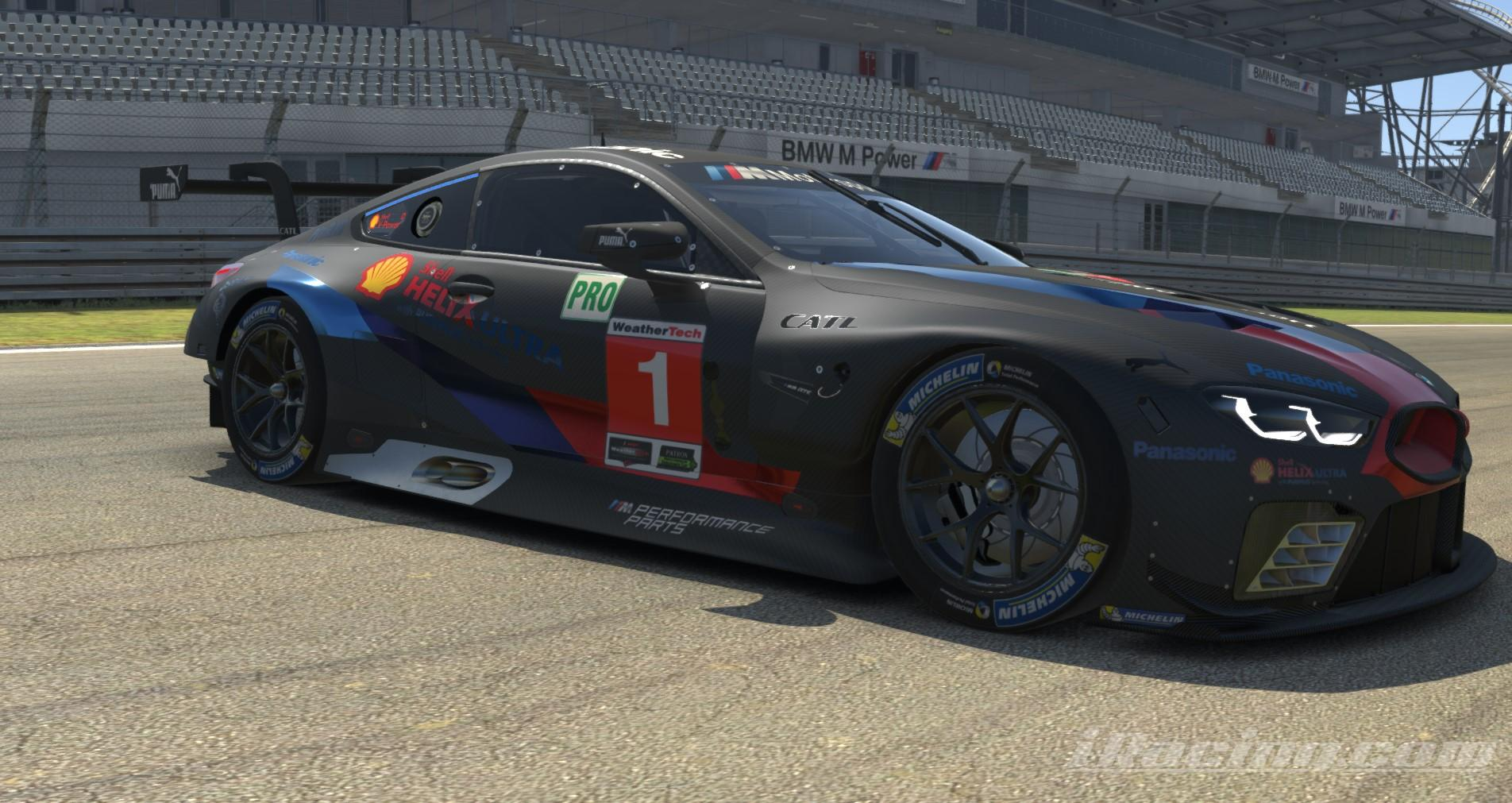 Preview of BMW M8 GTE - Metallic Edition - Black Carbon by Paul Mansell