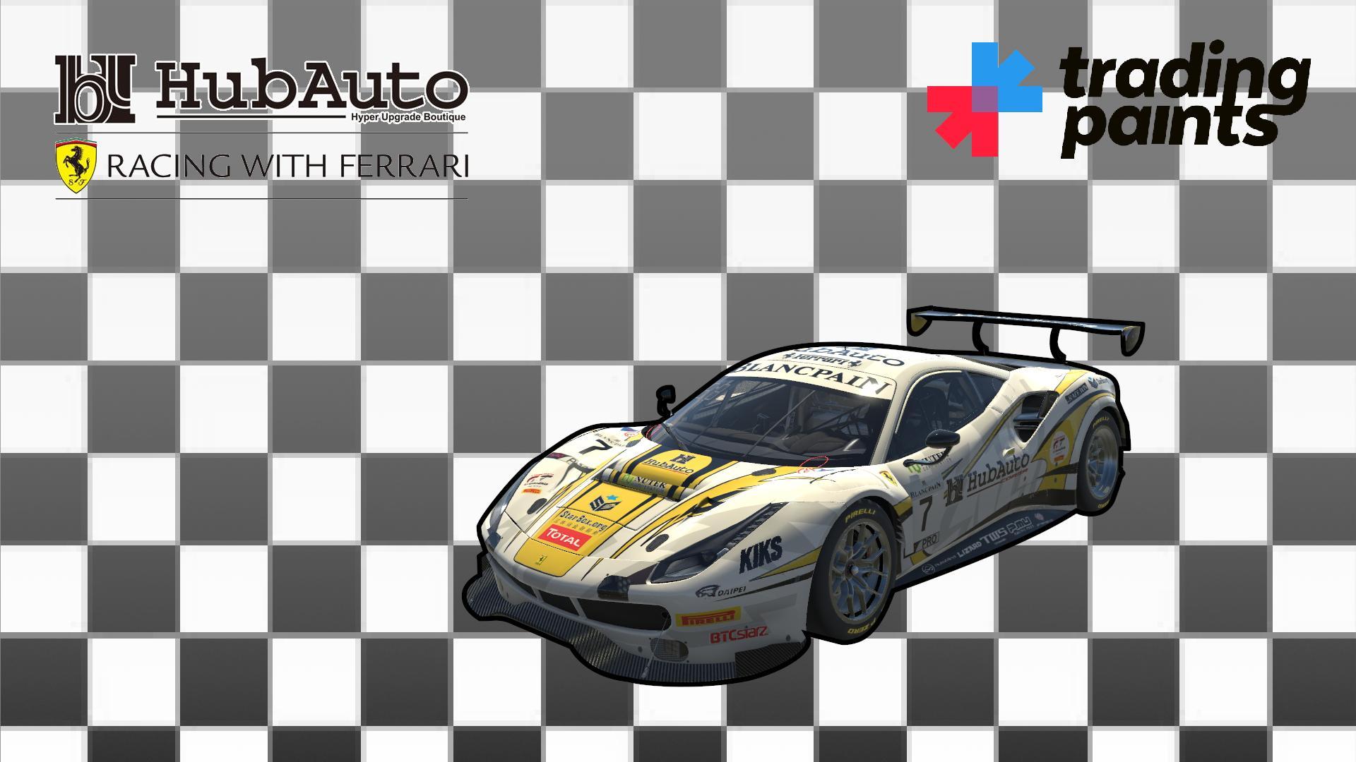 Preview of #227 HubAuro Corsa Racing With Ferrari - Ferrari 488 GT3 by Andrzej Frysiak