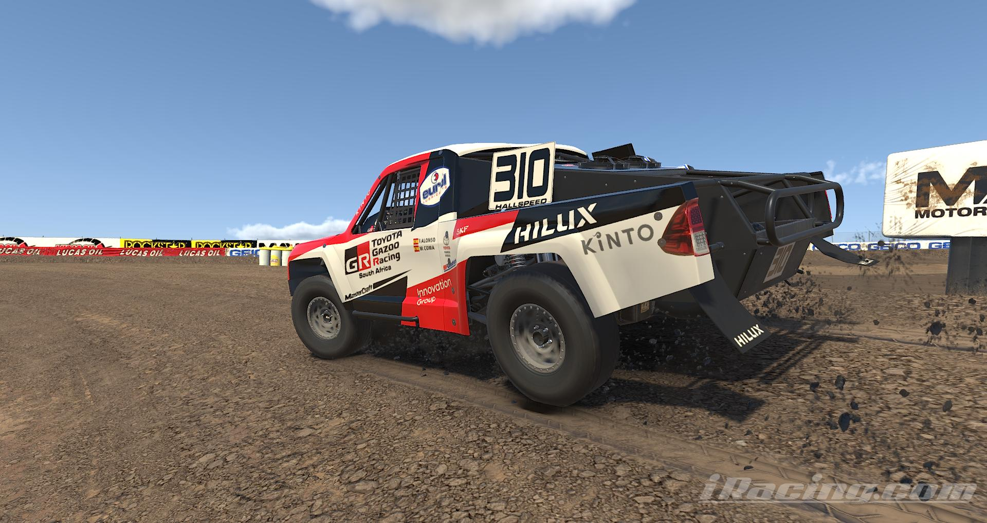 Preview of Team Gazoo Toyota Dakar Hilux - Alonso / Coma - Pro 2 Lite by Steve Ficacci