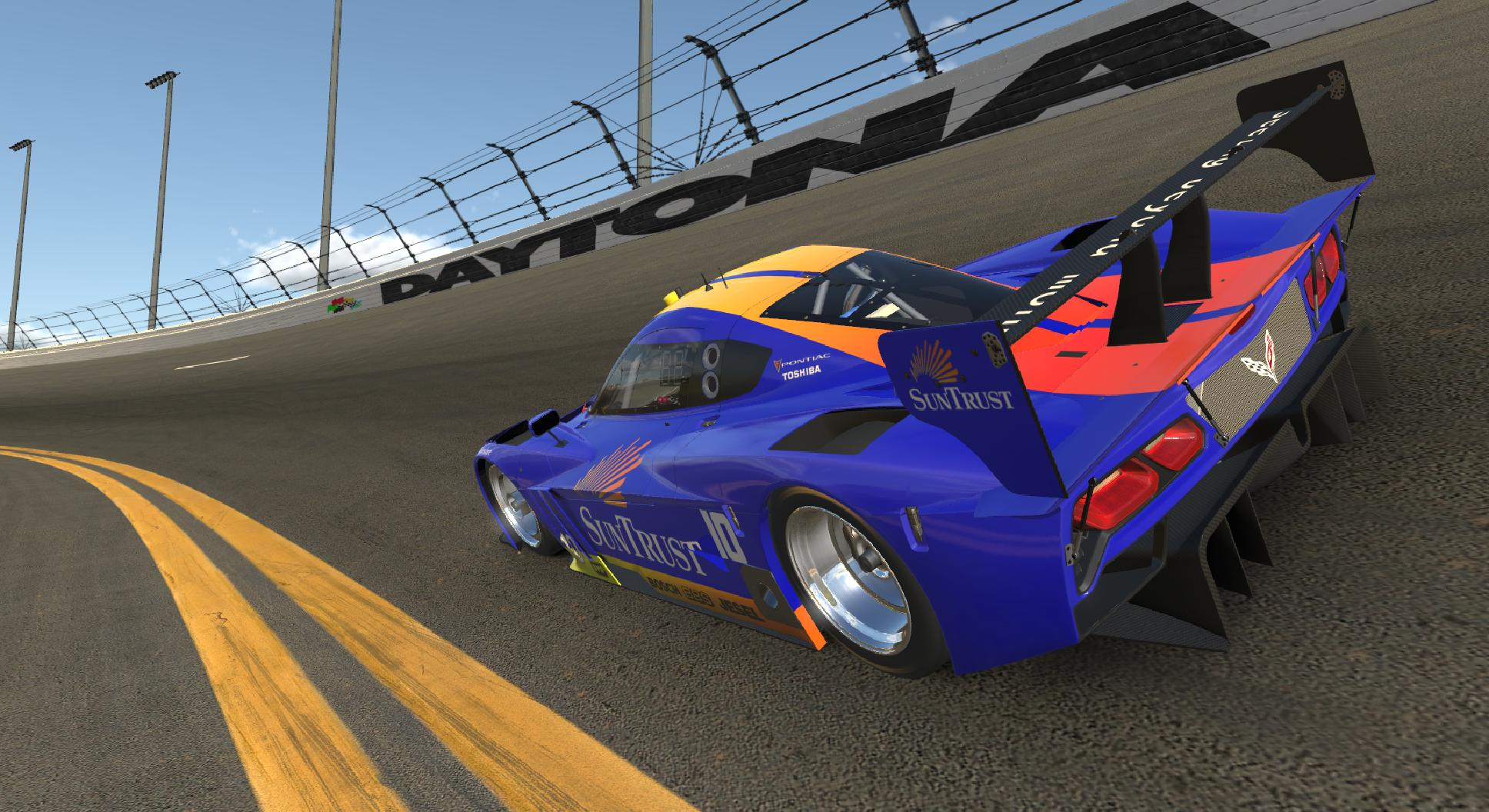 Preview of Wayne Taylor SunTrust Daytona Prototype by Steve Ficacci