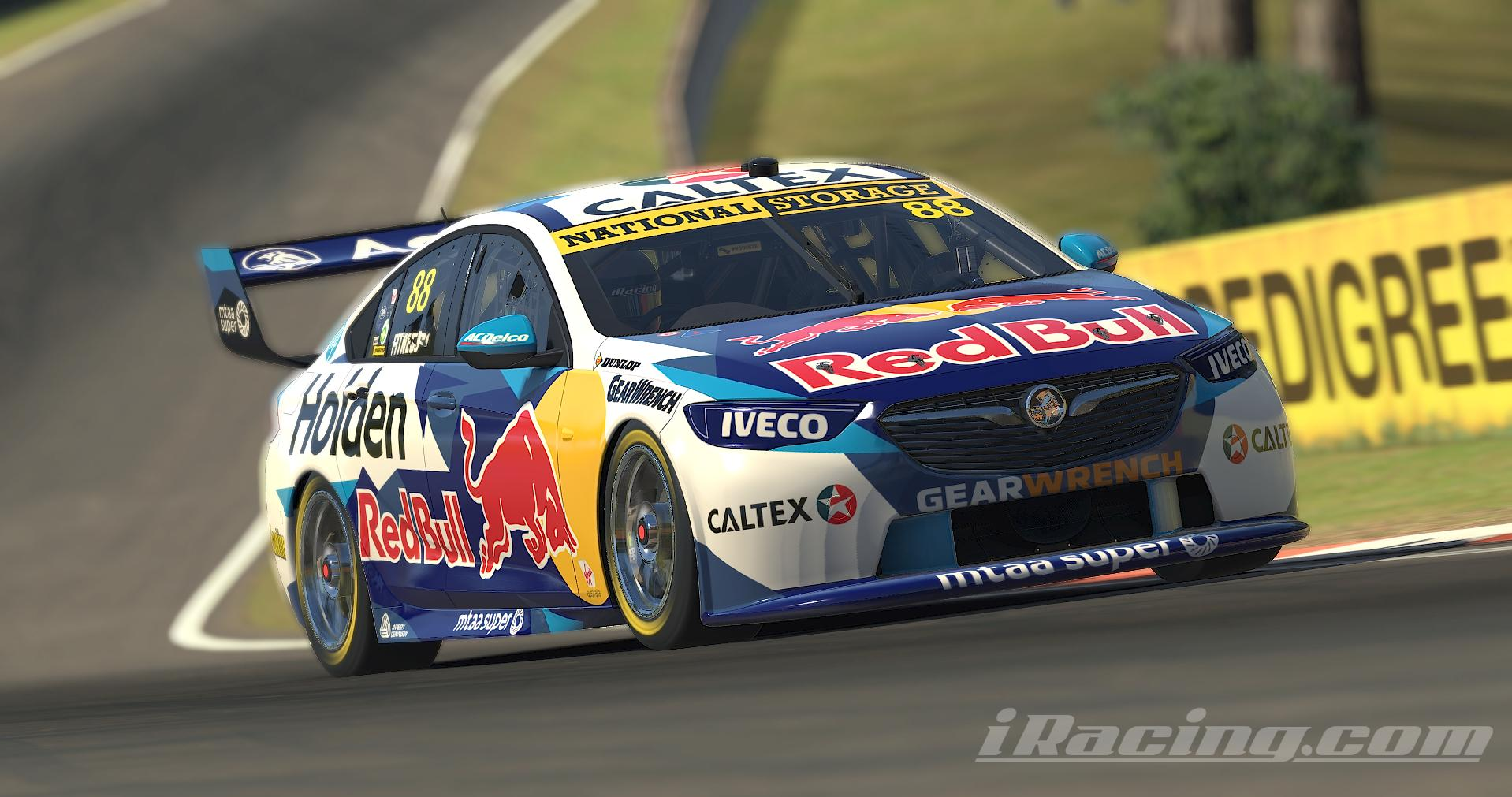 Preview of 2020 RedBull Holden Racing by Rob Fitness