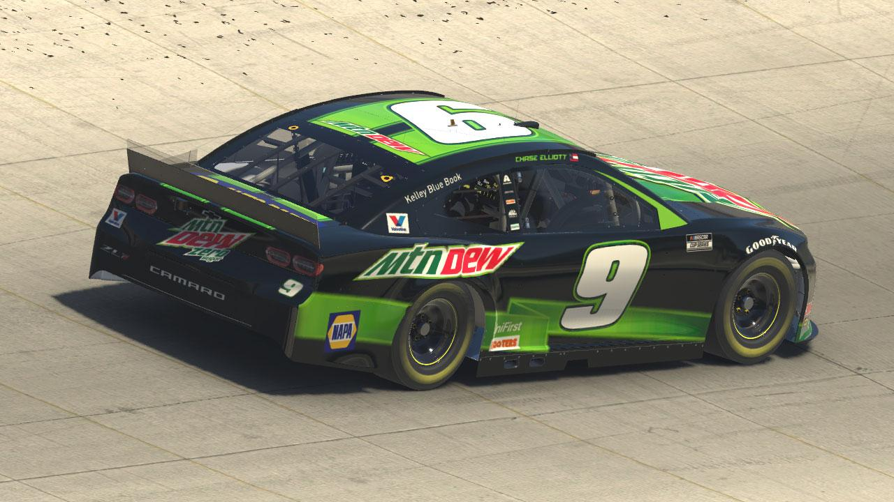 Preview of 2020 Chase Elliott Mountain Dew Zero Sugar by Michael DiPasquale