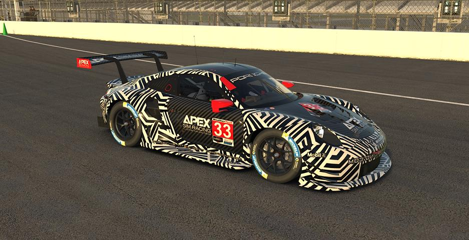 Preview of ApexSimRacing.com Porsche 911 RSR    by Jimmy Fisher