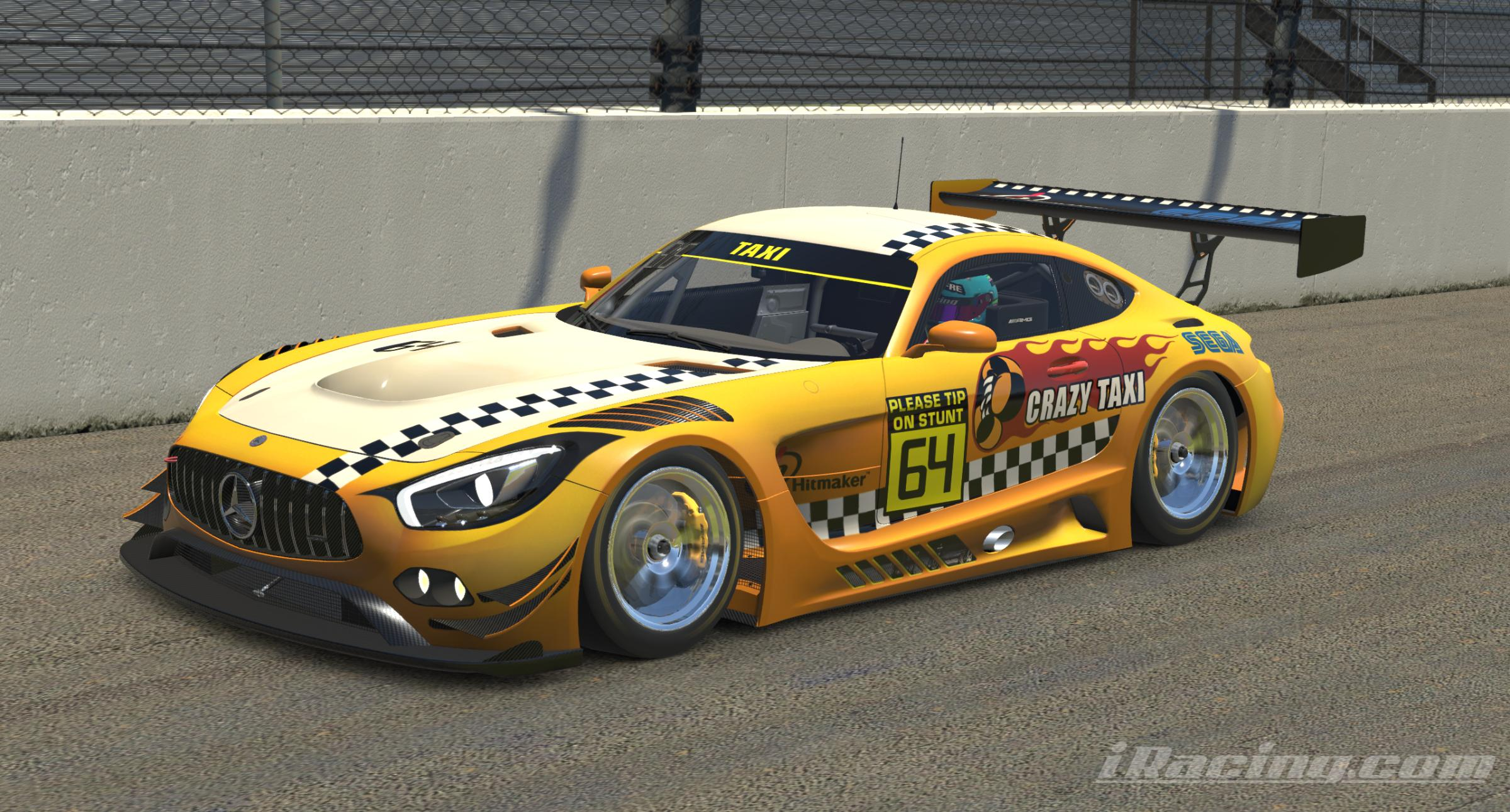 Preview of Crazy Taxi AMG GT3 by Cassie Knight