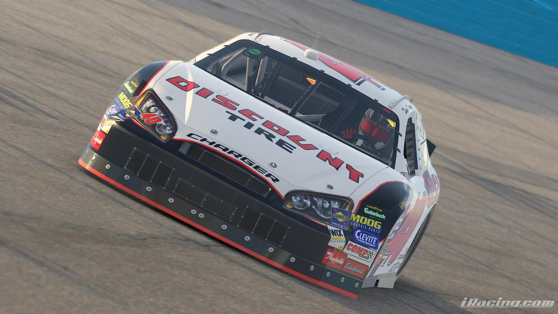 Preview of David Stremme 2006 Discount Tire with Number by Alexander L Russell