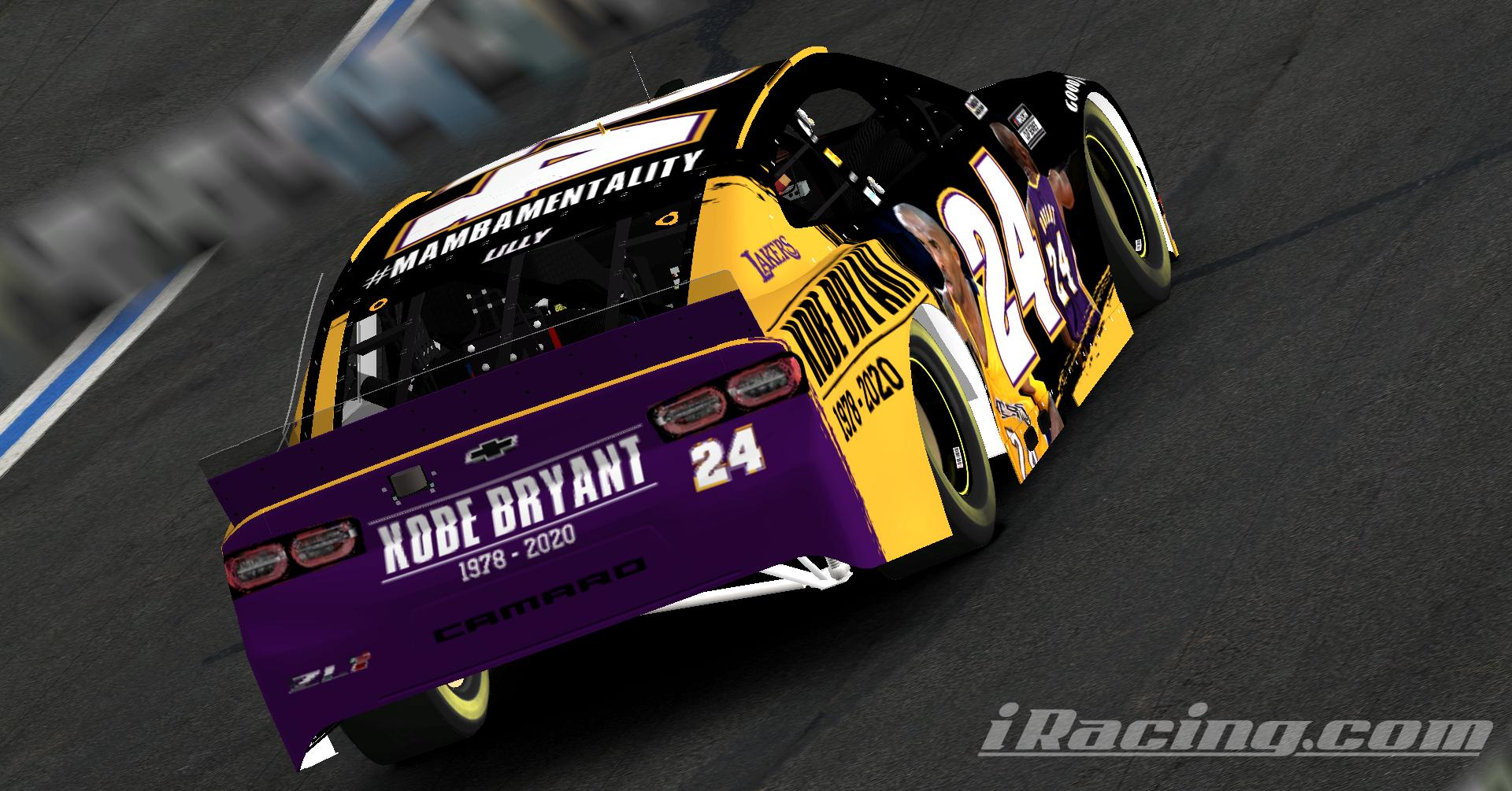 Preview of Kobe Bryant Tribute Chevrolet Camaro by Chris Lilly