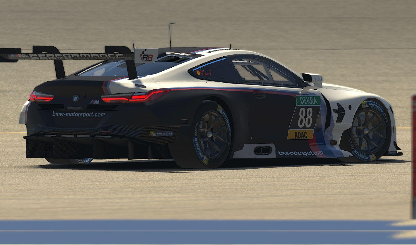 Preview of Schubert Motorsport Race Room Central BMW M8 by Stephane Parent
