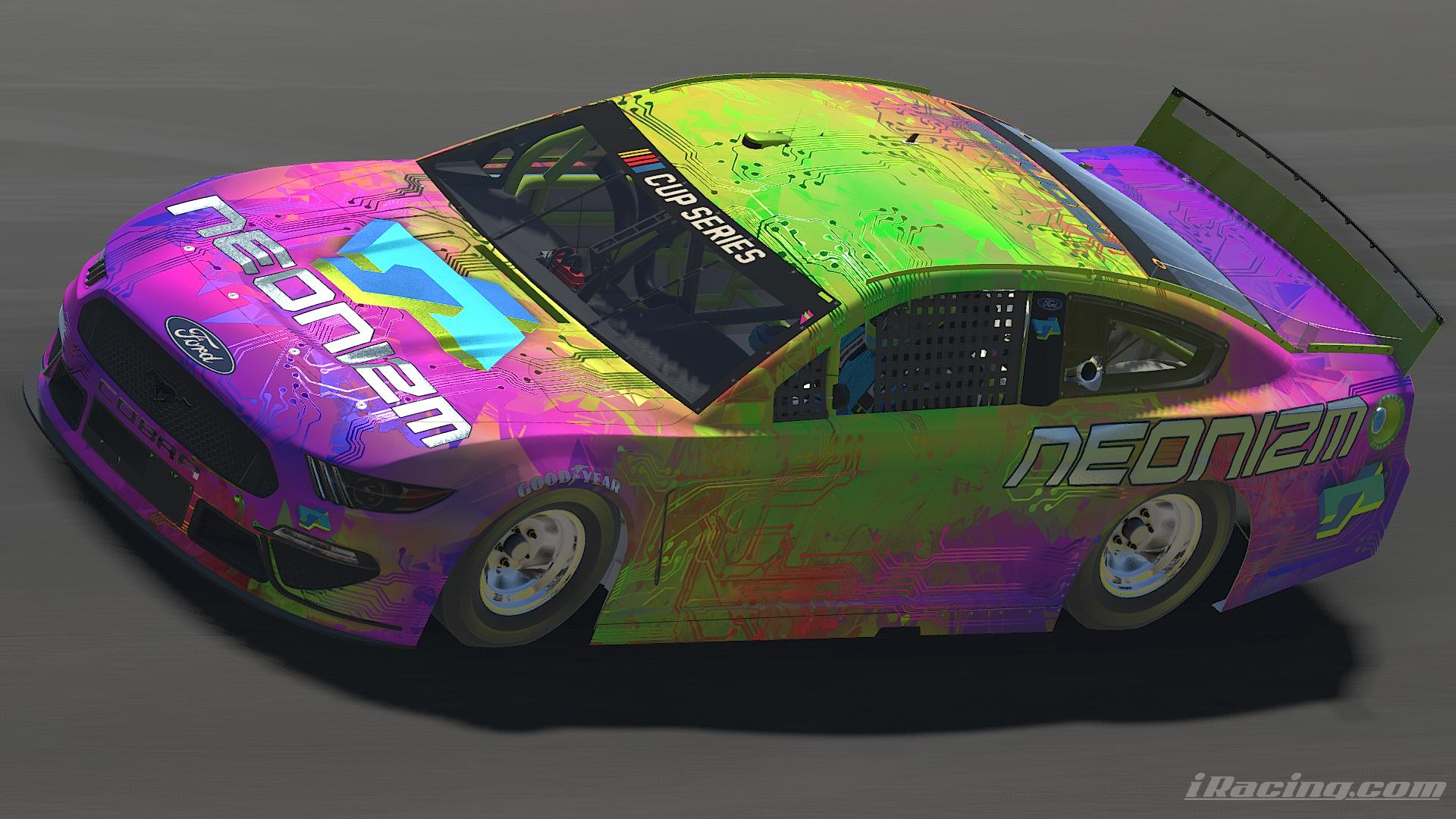 Preview of 2020 NEONIZM Psychadelic Tech Mustang by Jesse Abraham