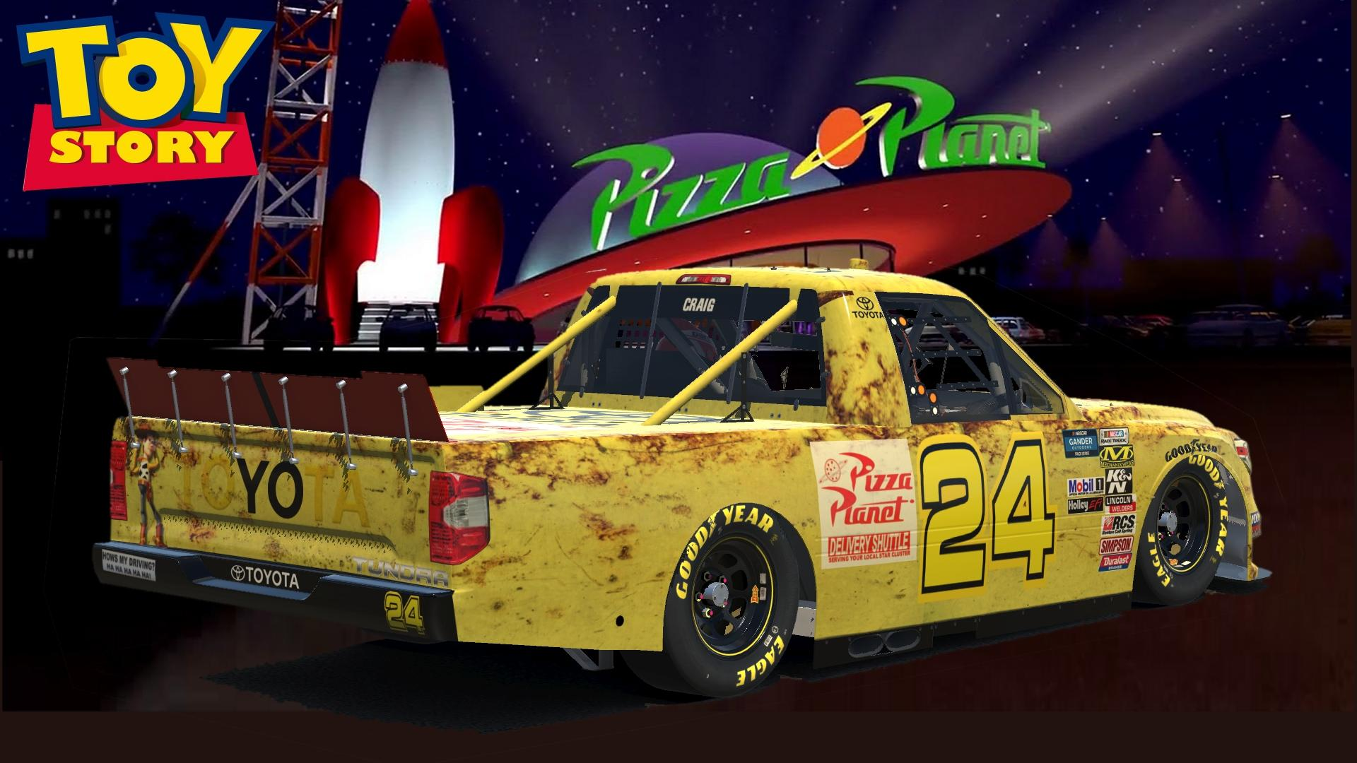 Preview of Toyota Tundra Pizza Planet by Don Craig