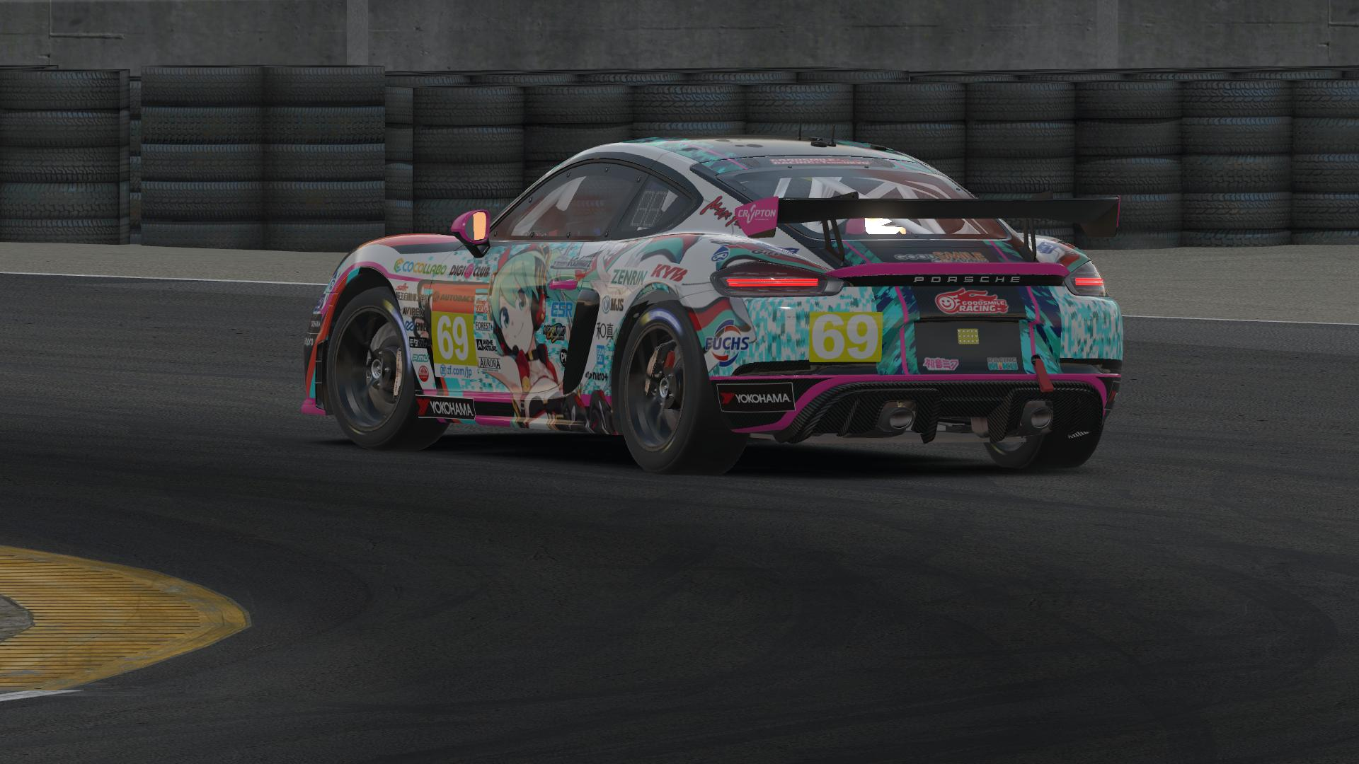 Preview of Porche 718 GT4 - Goodsmile Racing Hatsune Miku by Jake Gaudet