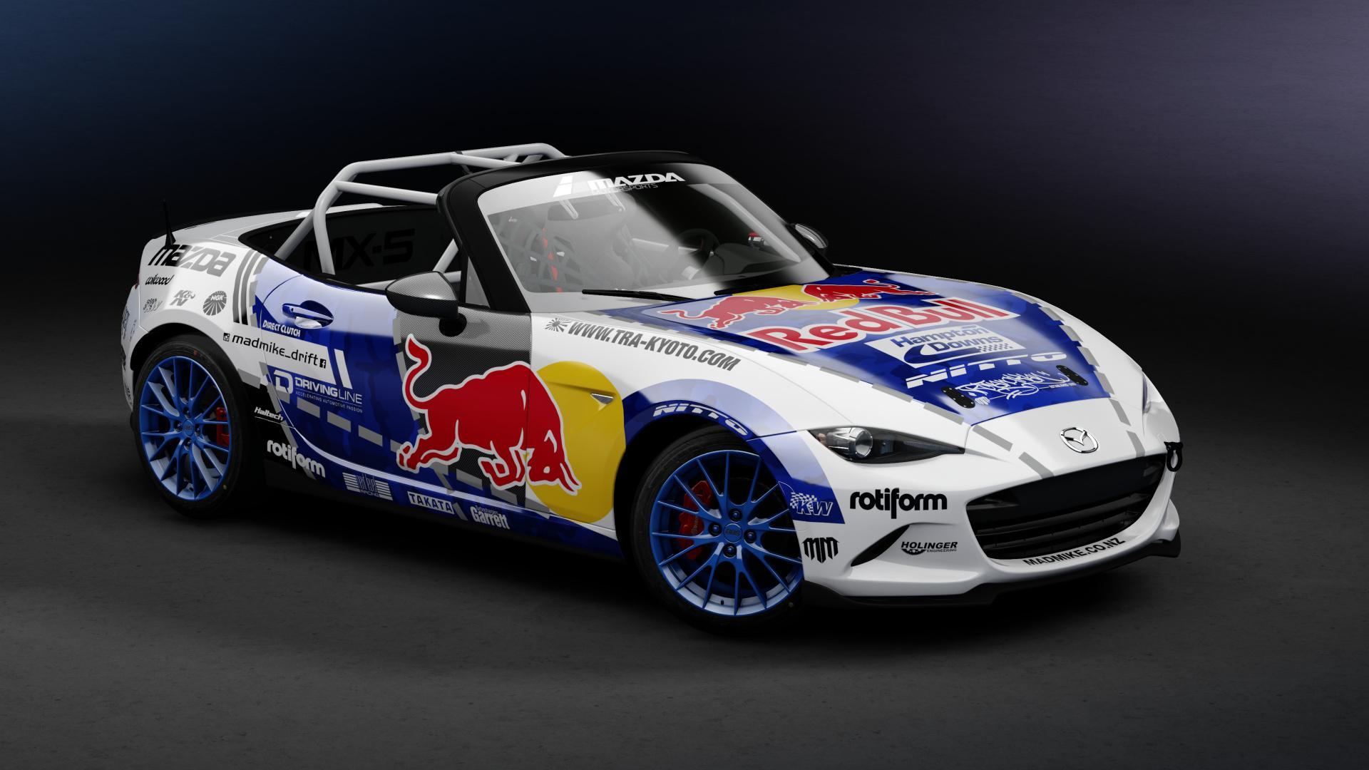 Preview of Mazda MX5 Red Bull  by Krisztián Kónya