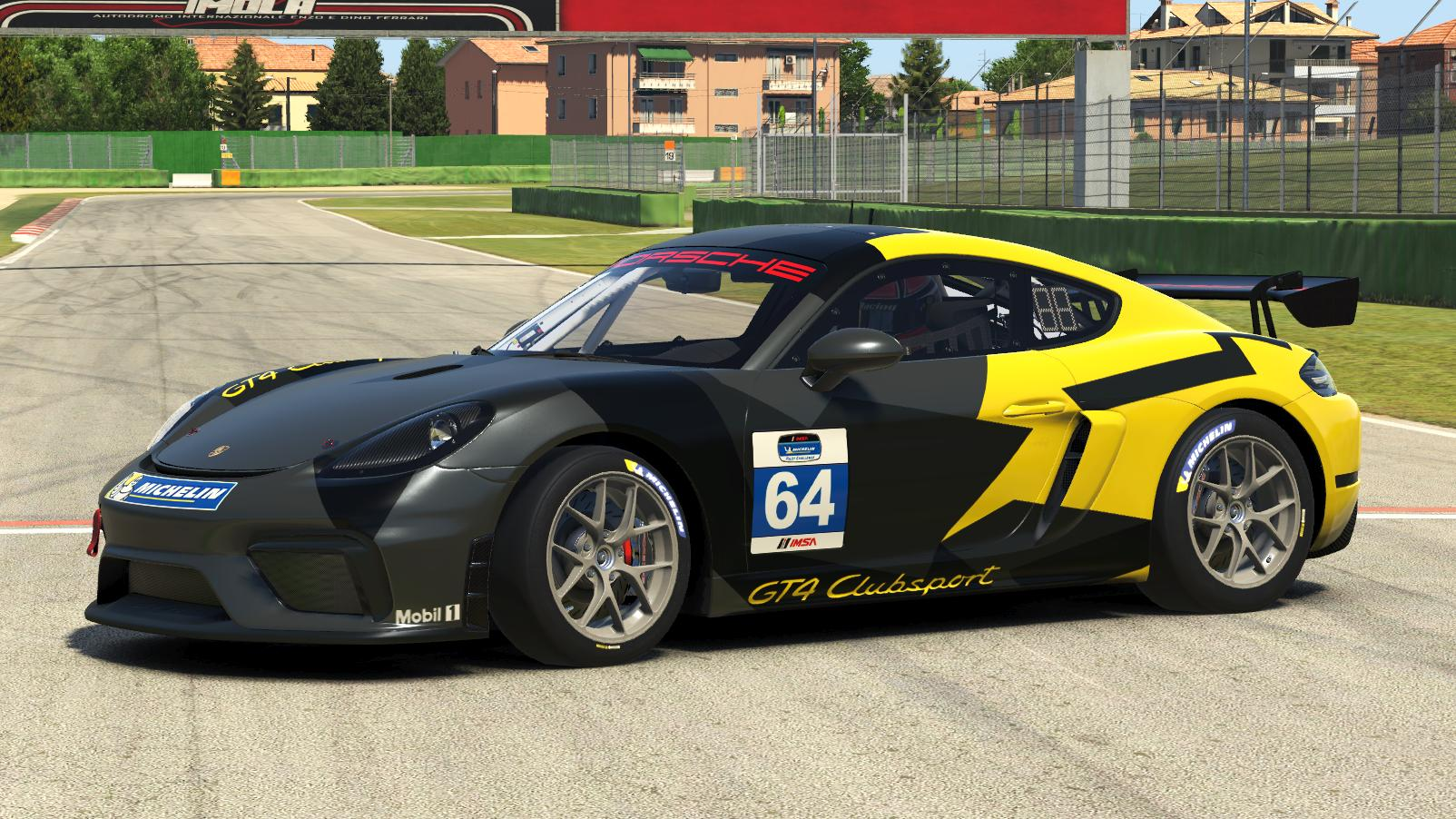 Preview of 2016 Porsche Cayman GT4 Factory test livery by Emil Kofod