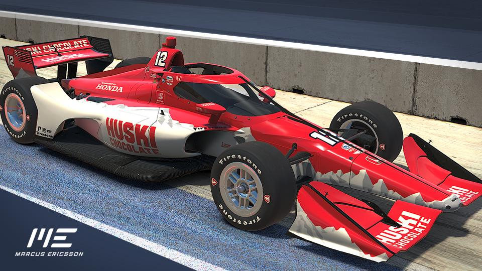 Preview of Huski Chocolate Chip Ganassi Racing #8 - Marcus Ericsson 2020 by Alexander Hederby