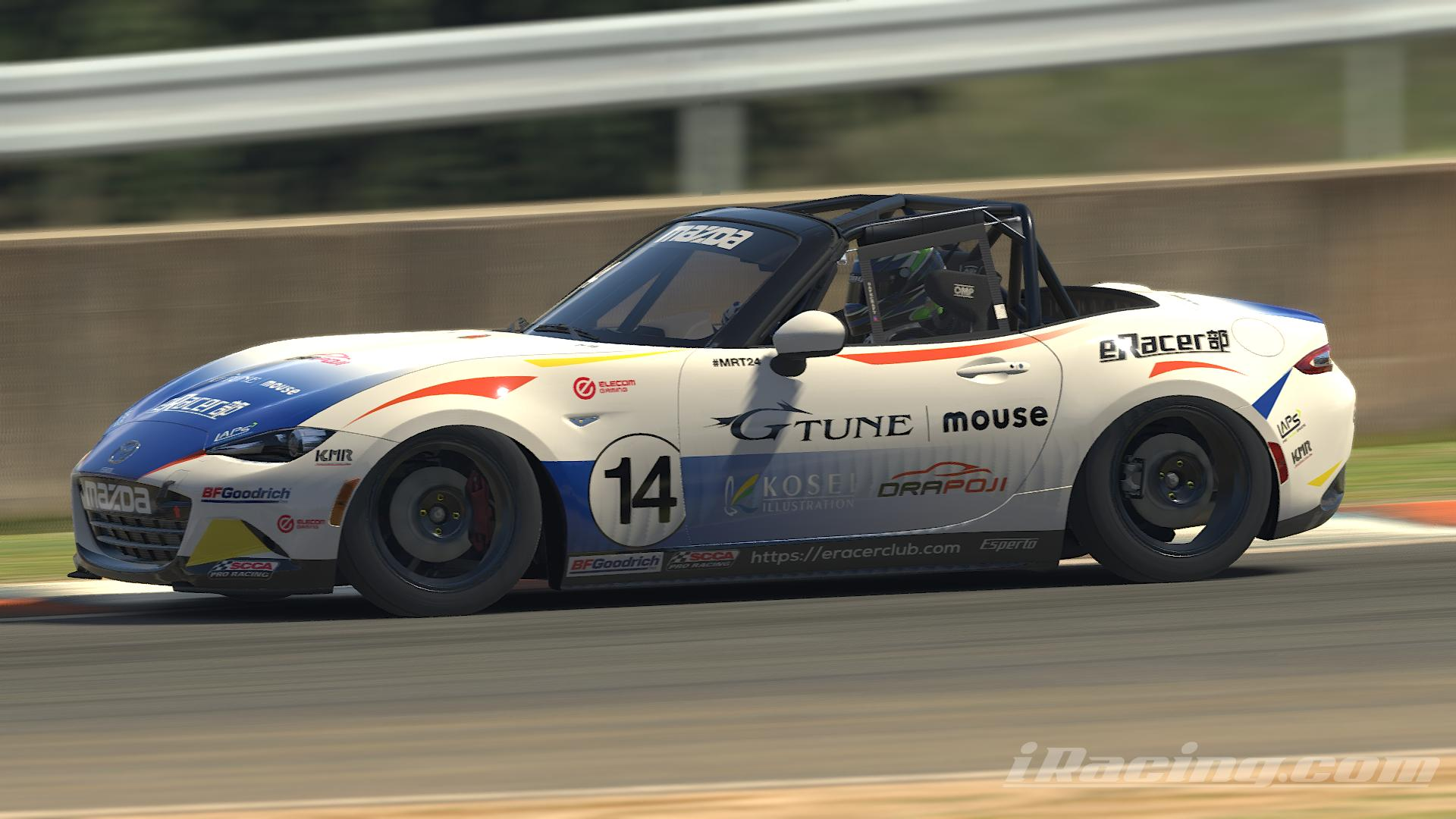 Preview of Esperto-eRacer club Global MX-5 by Yusuke Nodake