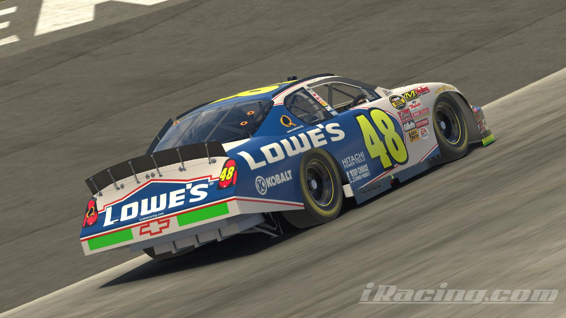 Preview of Jimmie Johnson 2005 Lowes Monte Carlo by Chandler Krizek