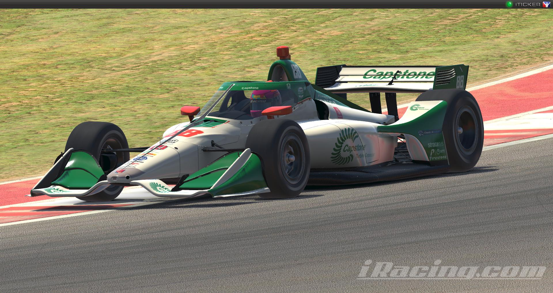 Colton Herta #88 Capstone 2020 NTT Data Indycar Series by ...