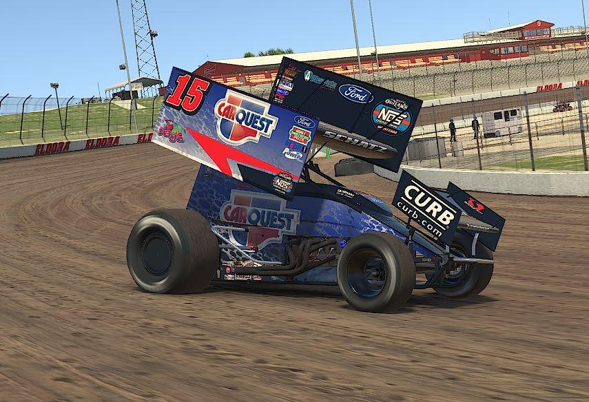 Preview of Donny Schatz CarQuest iracing by Drew Neel