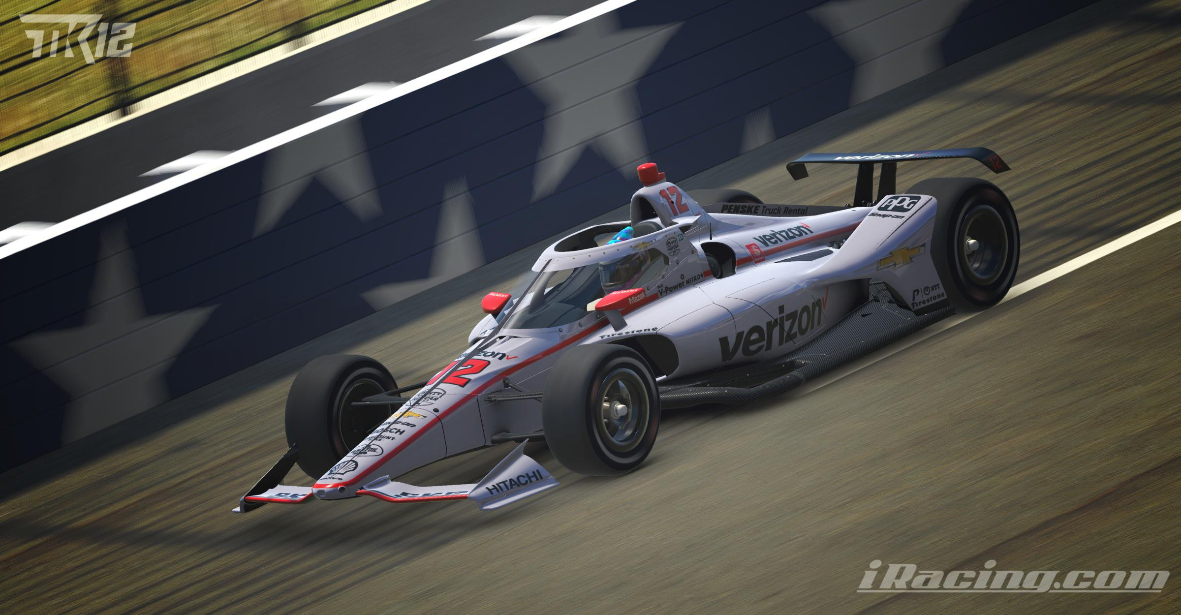 Preview of Will Power 2020 Verizon #12 by Tyler King
