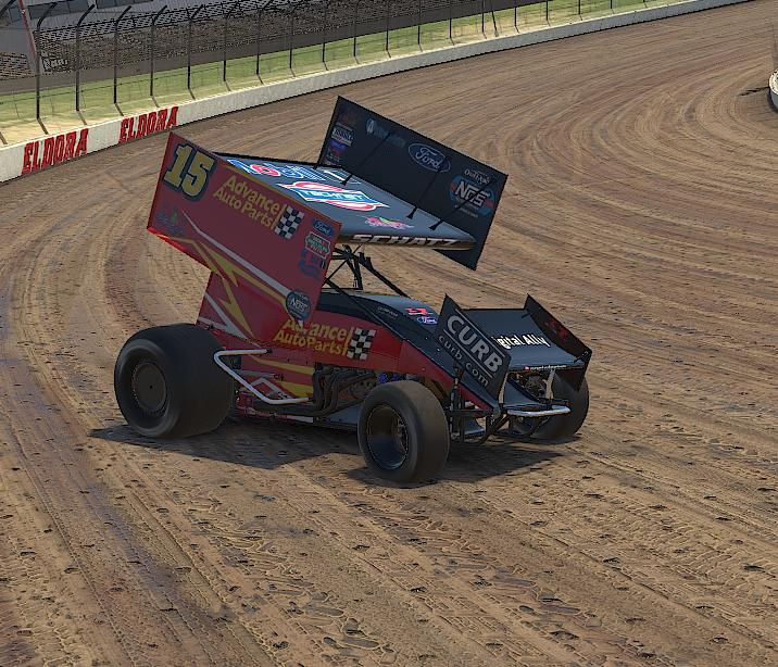 Preview of Donny Schatz Advance Auto Parts iracing copy by Drew Neel