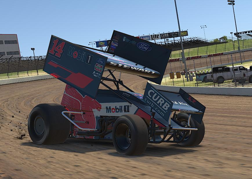 Preview of Tony Stewart MOBIL 1 iracing  by Drew Neel