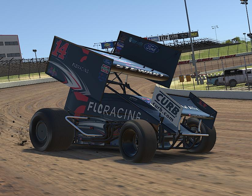 Preview of Tony Stewart FLORACING iracing  by Drew Neel