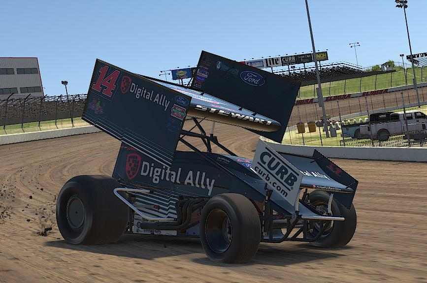 Preview of Tony Stewart Digital Ally iracing by Drew Neel