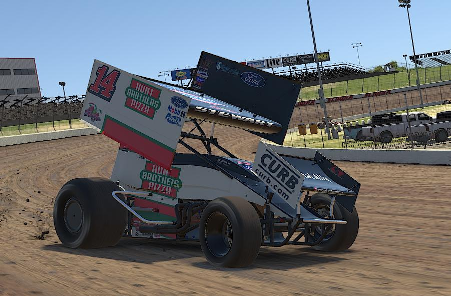 Preview of Tony Stewart Hunt Bros Pizza iracing by Drew Neel