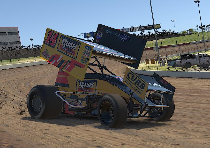 Preview of Tony Stewart Rush Car iracing by Drew Neel