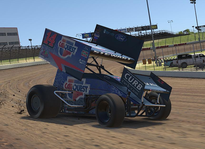 Preview of Tony Stewart CarQuest iracing by Drew Neel