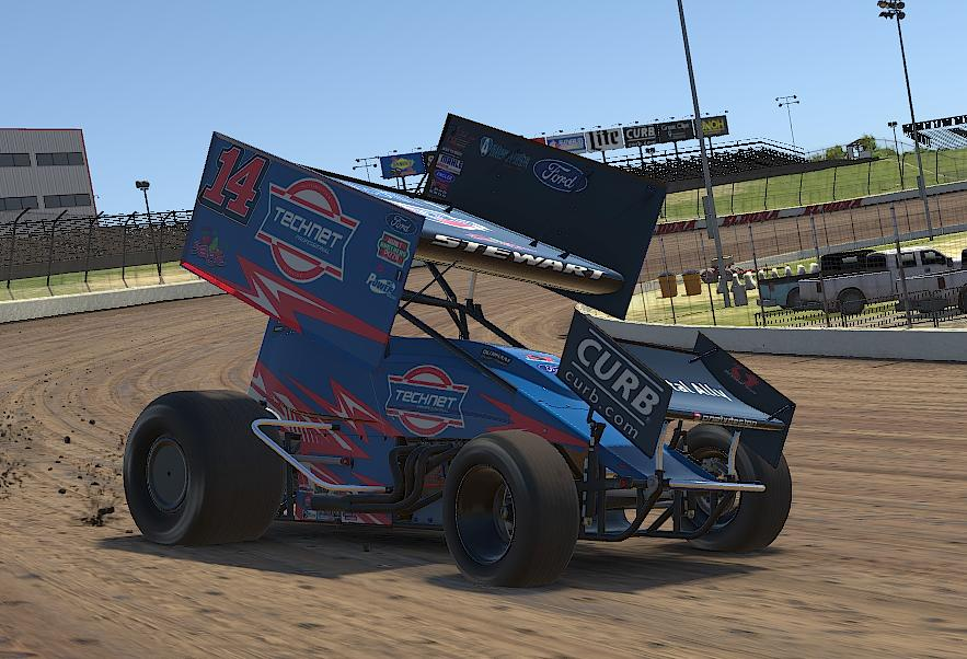 Preview of Tony Stewart TECHNET iracing by Drew Neel