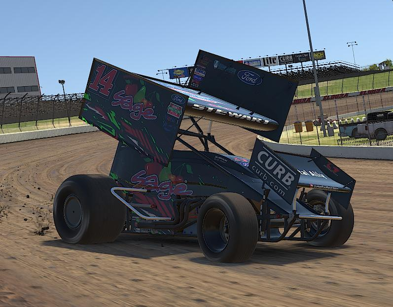Preview of Tony Stewart SAGE iracing by Drew Neel
