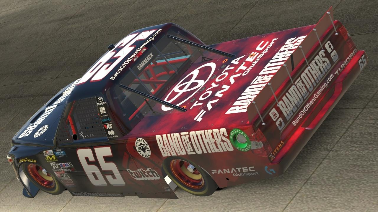 Preview of Band of Others NASCAR Tundra by Marc Gammack