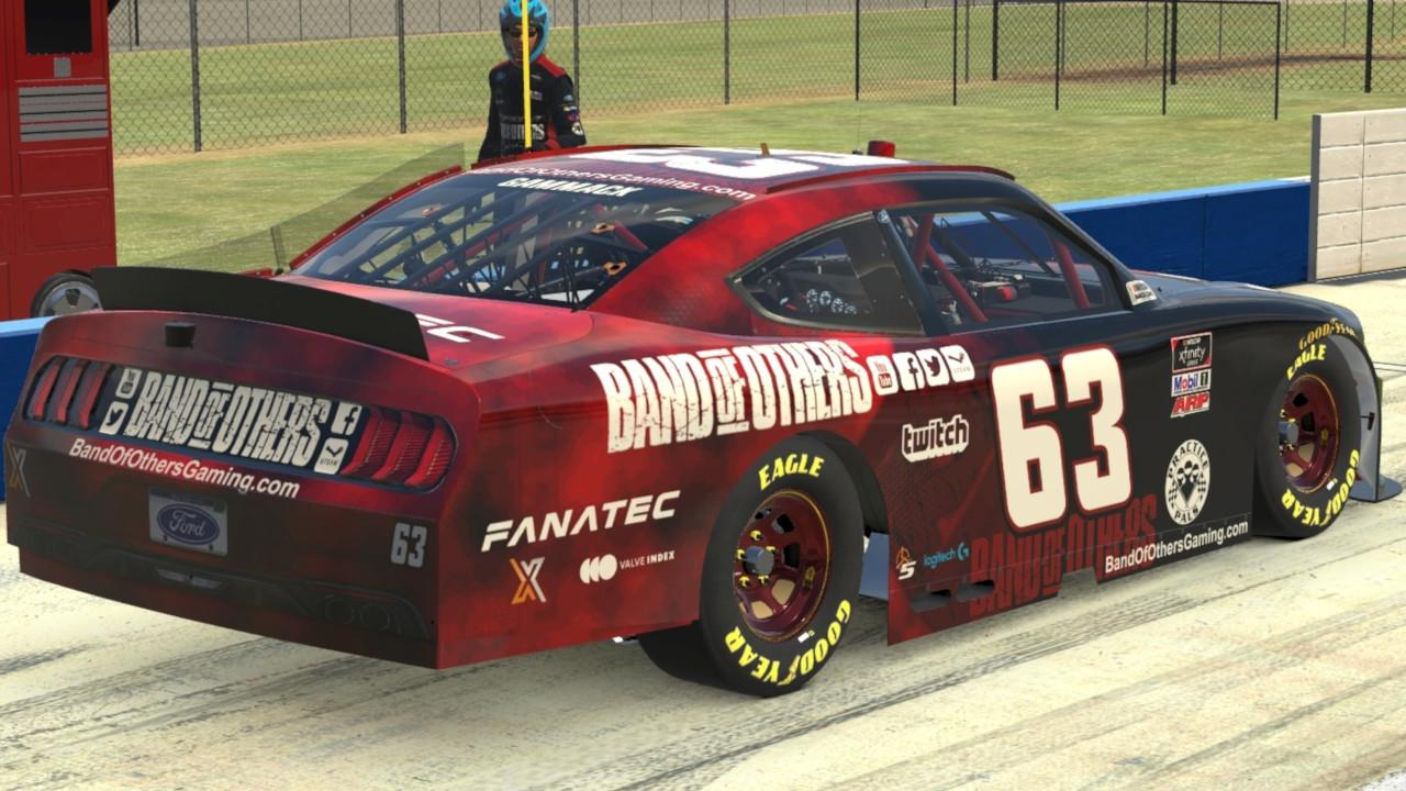 Preview of Band of Others Xfinity Mustang by Marc Gammack