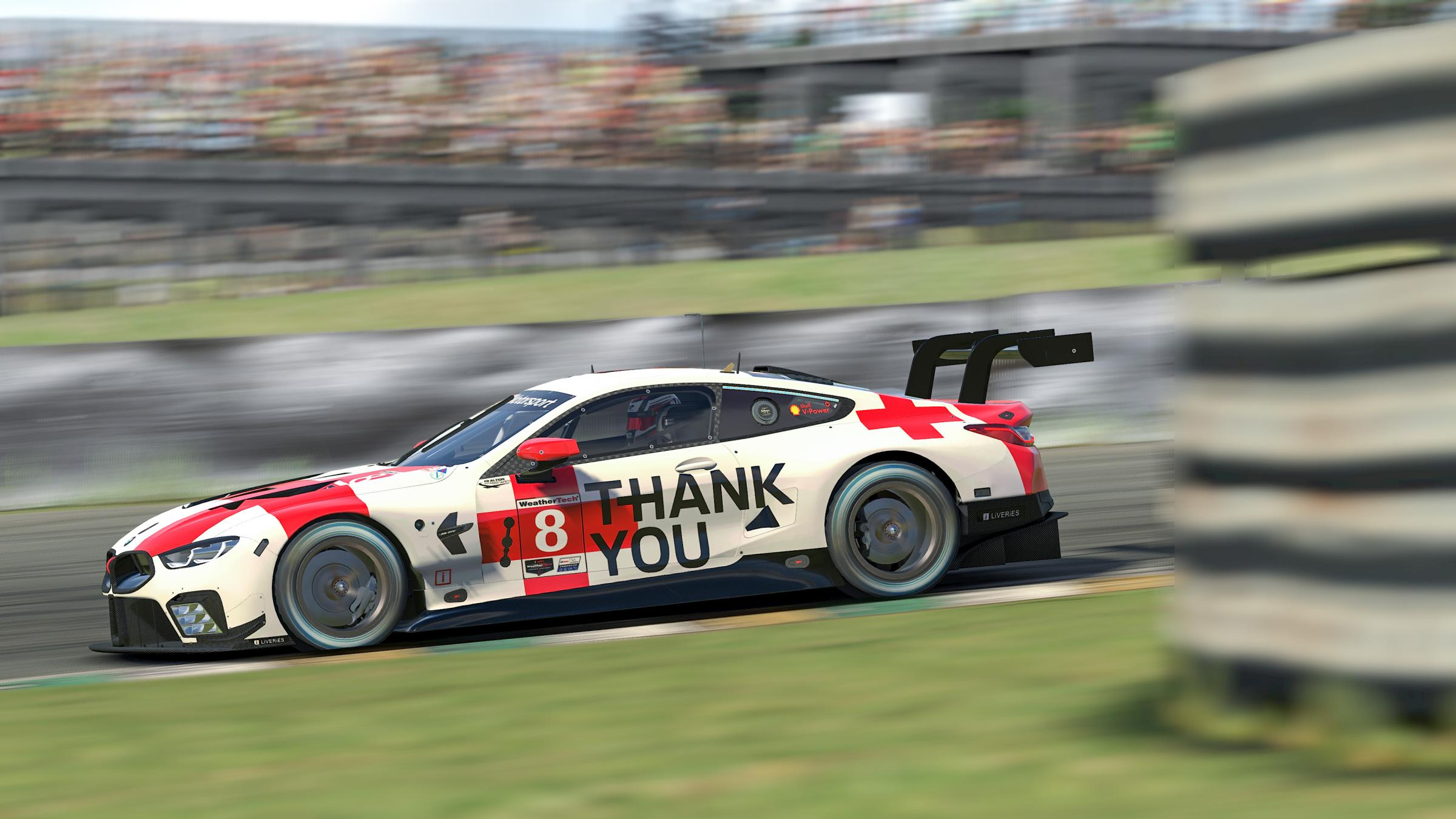 Preview of #RaceLikeAHero - BMW M8 GTE - BMW Motorsport. by BMW Motorsport