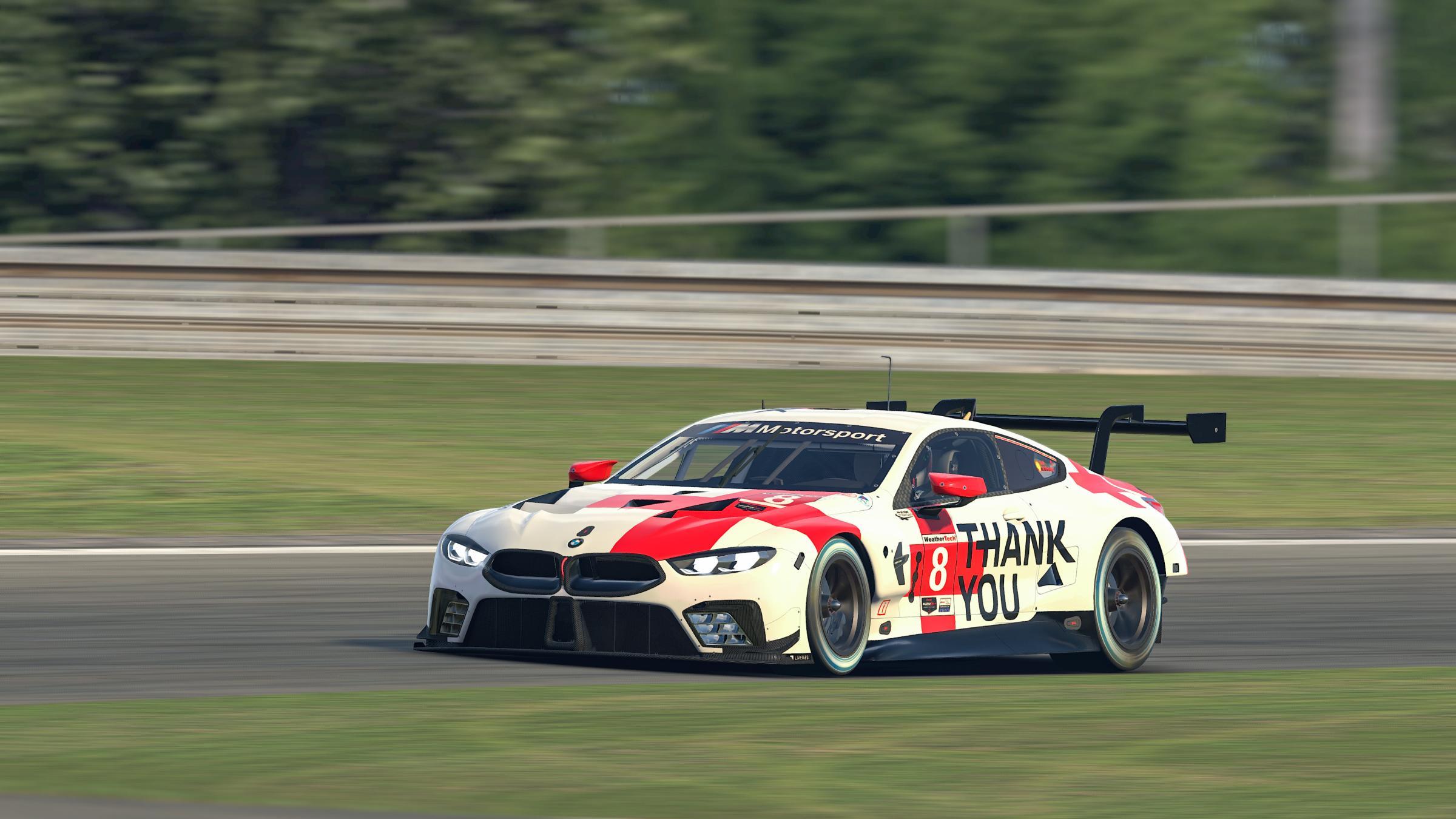 Preview of #RaceLikeAHero - BMW M8 GTE - BMW Motorsport. by BMW Motorsport