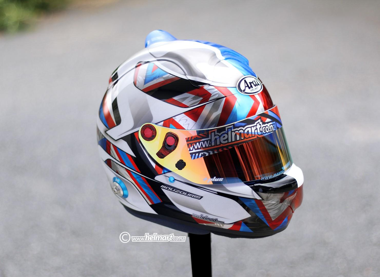 Preview of Angelo Mouzouris Helmet by Casey Sturrock