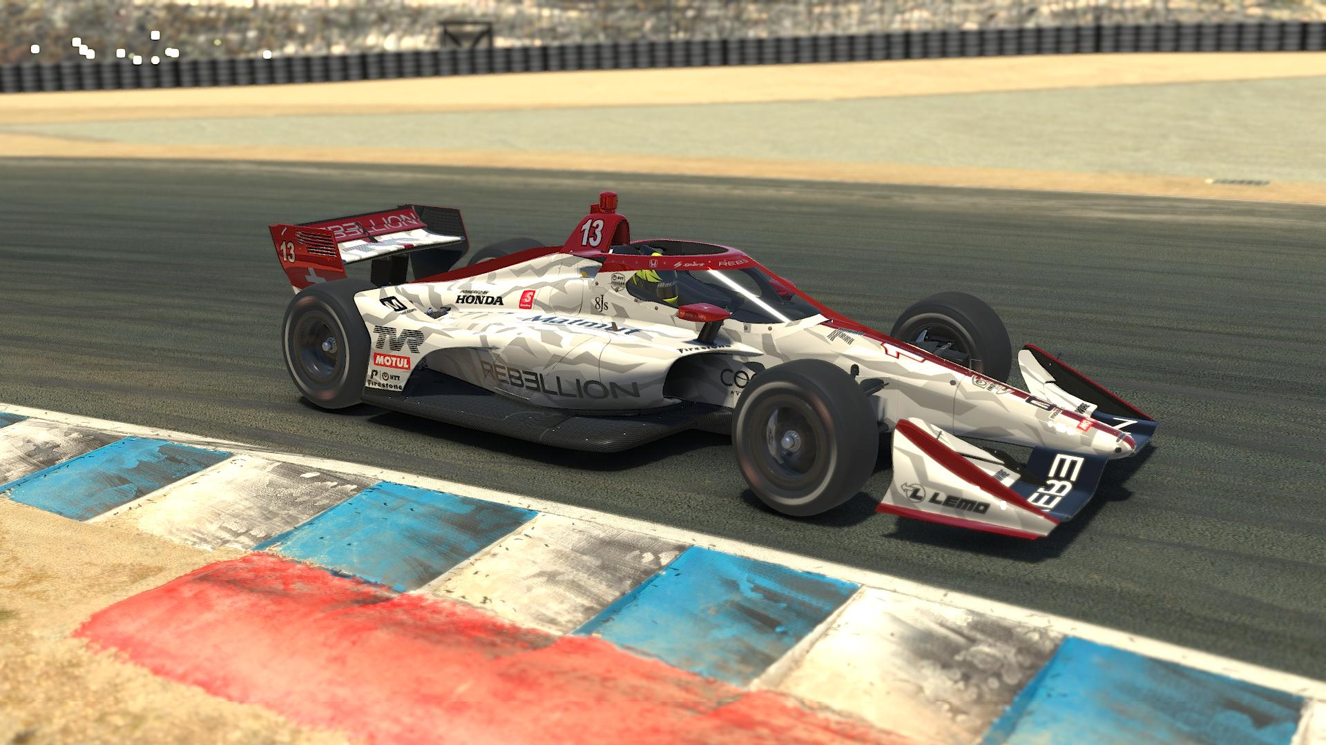 Preview of Rebellion Racing (White) by Zak Scholes