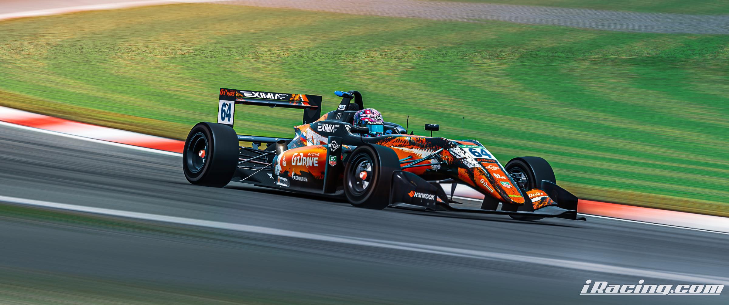 Preview of G-Drive Racing Dallara F3 by Roman Rusinov
