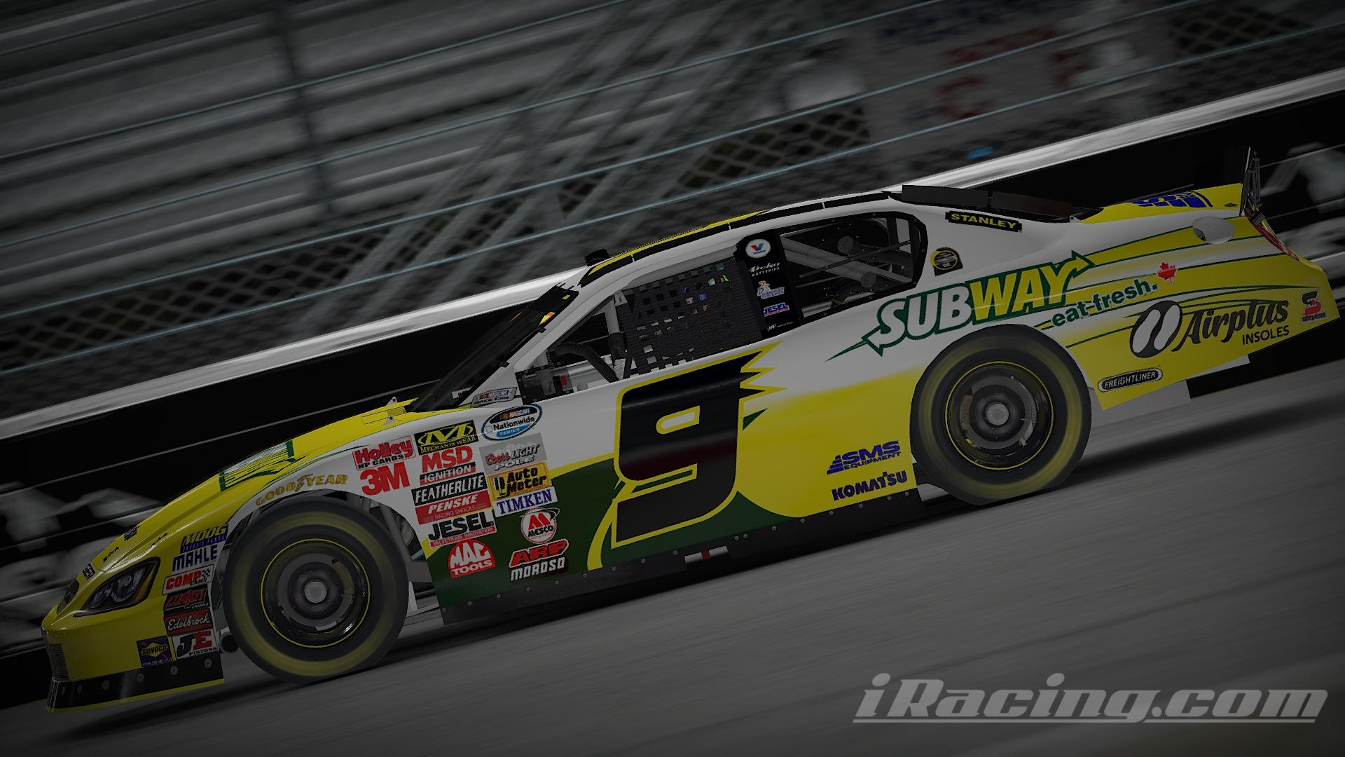 Preview of 2008 Patrick Carpentier Subway by Justin Teel