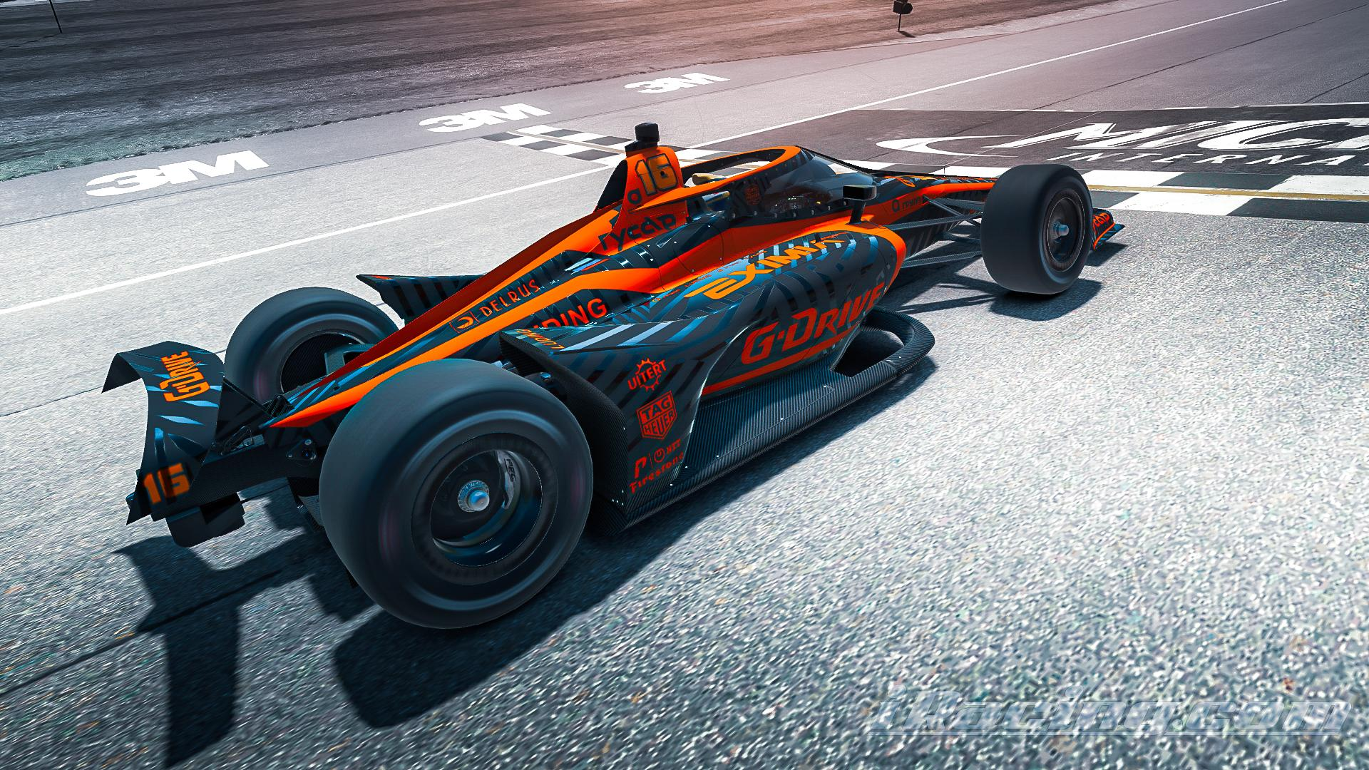 Preview of G-Drive Racing INDYCAR by Roman Rusinov