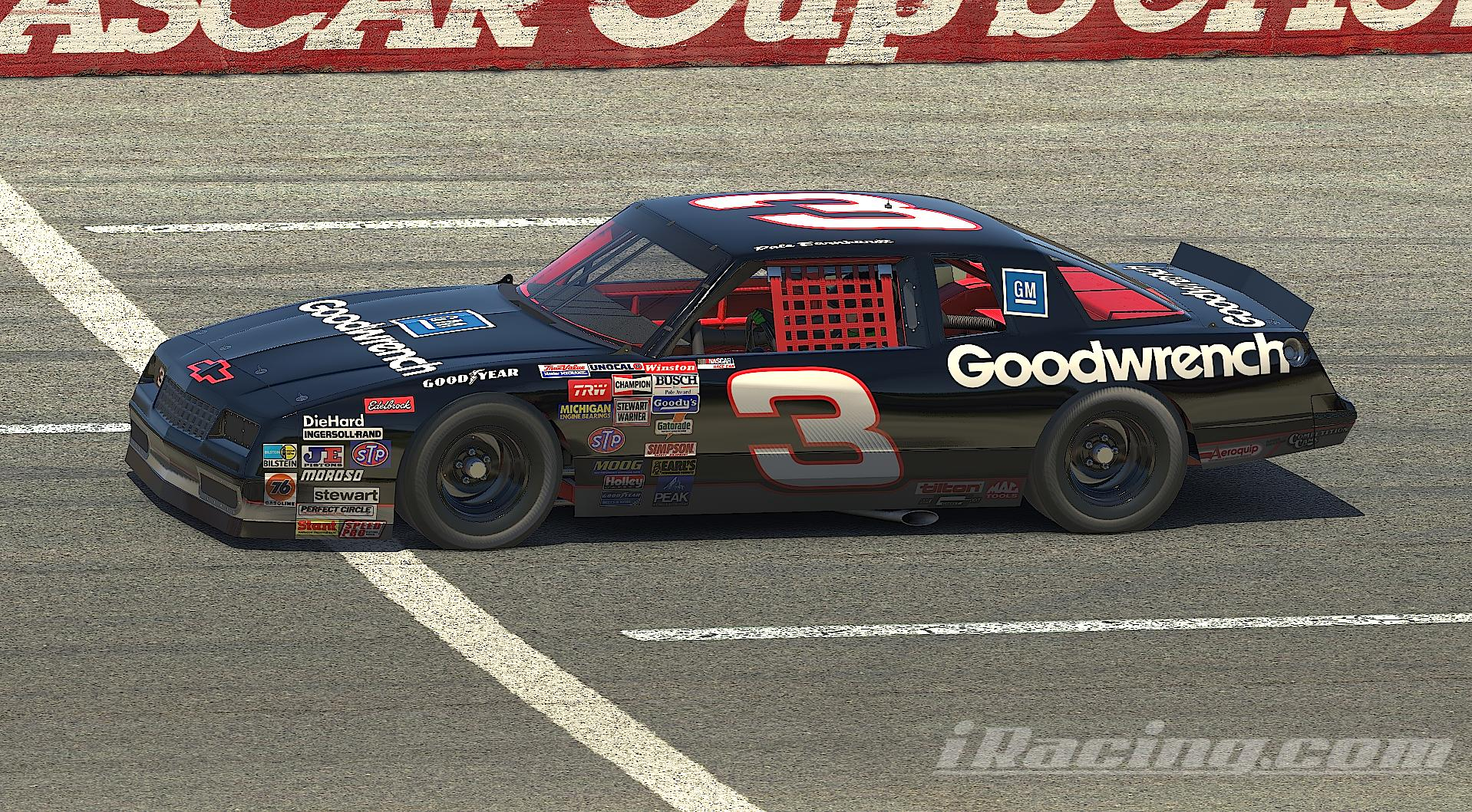 Preview of Dale Earnhardt Sr Goodwrench (no #) 1987 Chevrolet Monte Carlo by Nicholas Doucette