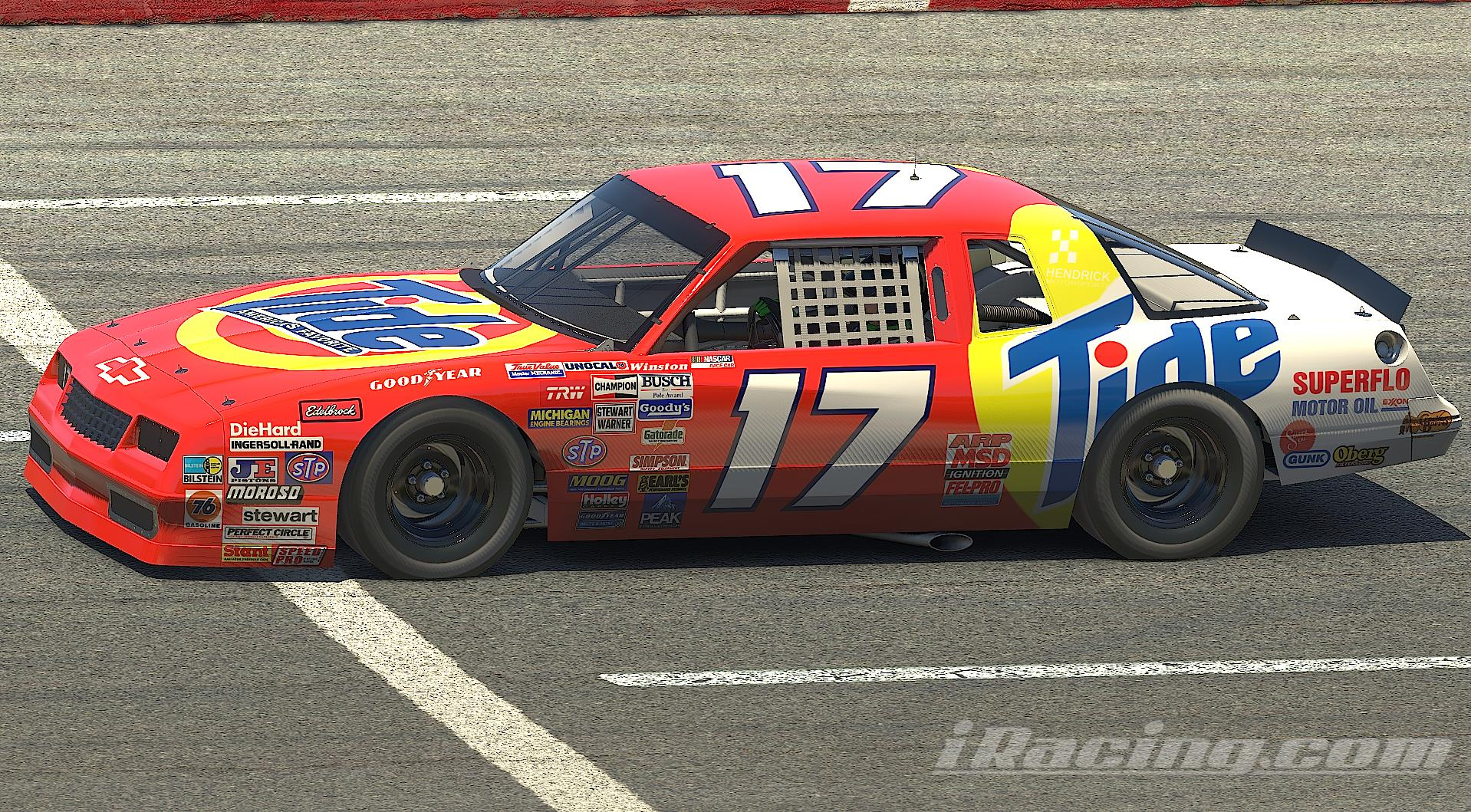 Preview of Darrell Waltrip Tide (no #) 1987 Chevrolet Monte Carlo by Nicholas Doucette
