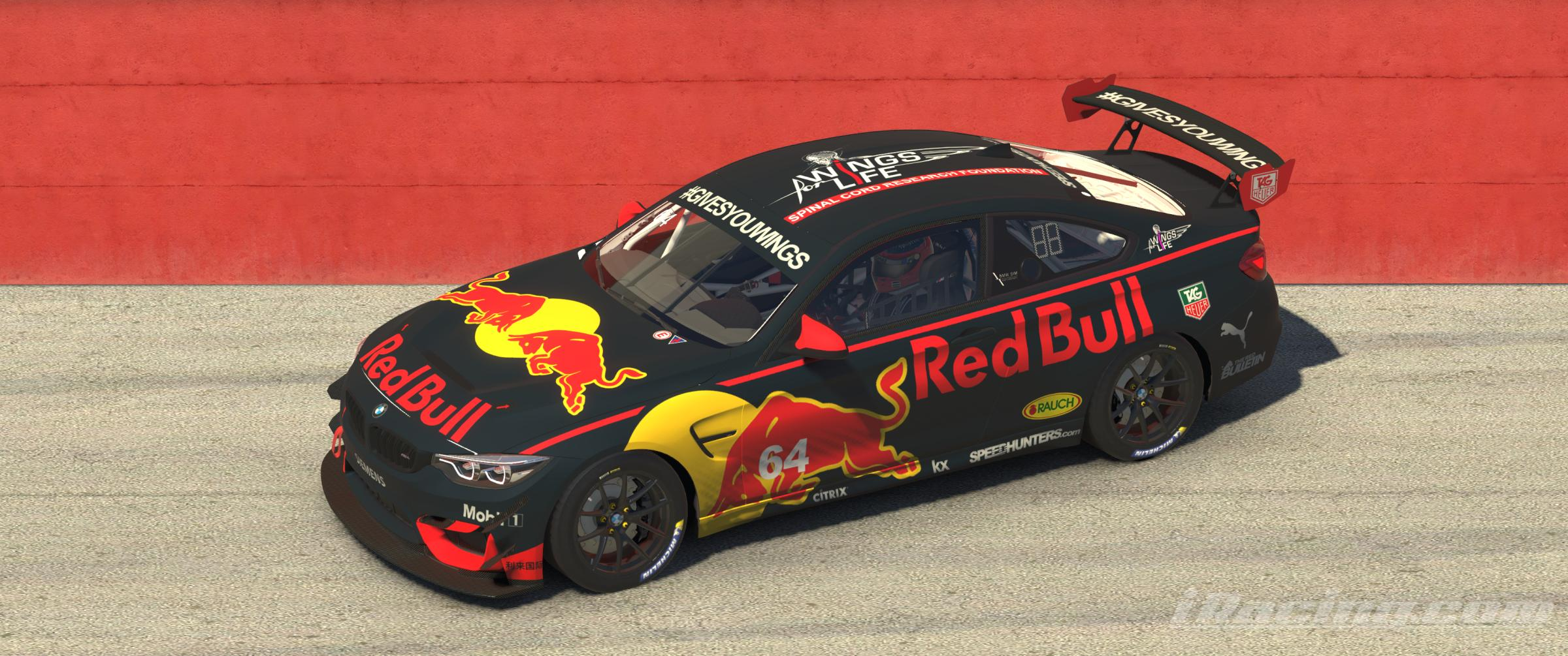 Preview of Red Bull BMW M4 GT4 by Stefan Gawlista