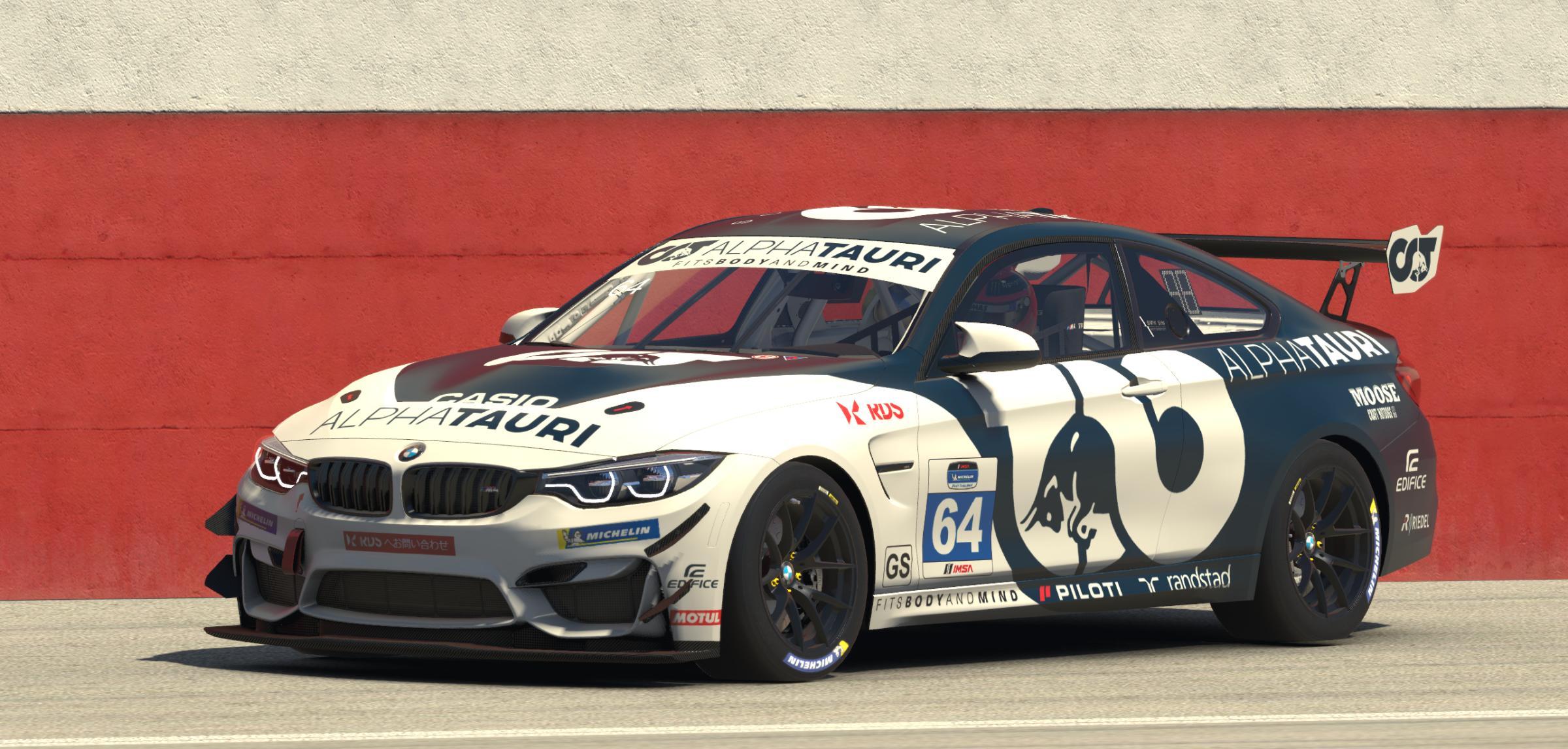 Preview of Alpha Tauri BMW M4 GT4 by Stefan Gawlista
