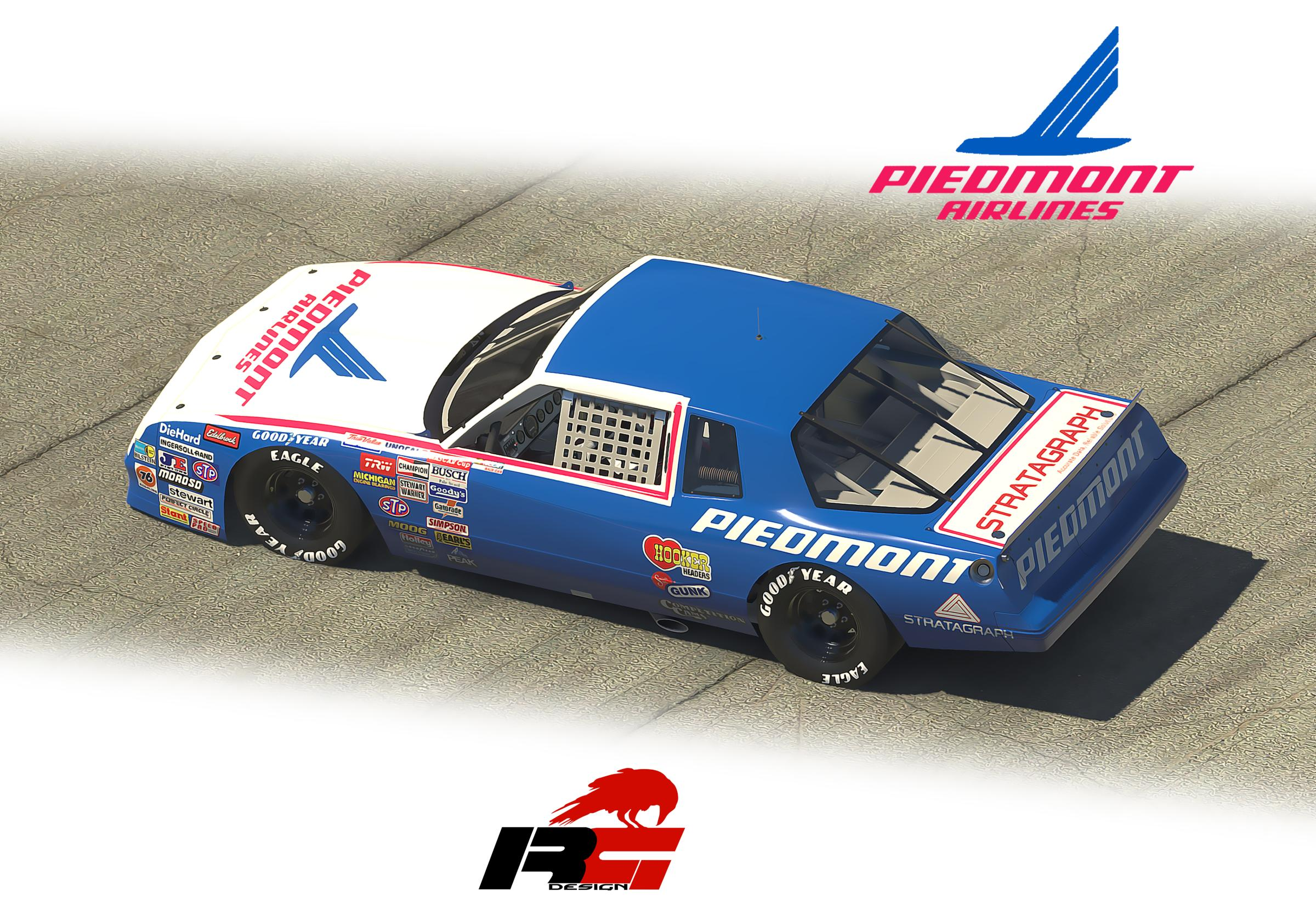 Preview of Piedmont Chevrolet Monte Carlo 1987 v3 by Doyle Lowrance