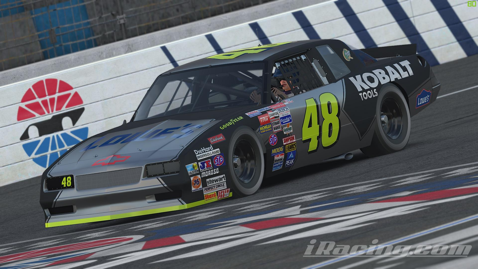 Preview of 1987 Jimmie Johnson Kobalt Tools Chevrolet Monte Carlo (CUSTOM NUMBER) by Sean Peleg