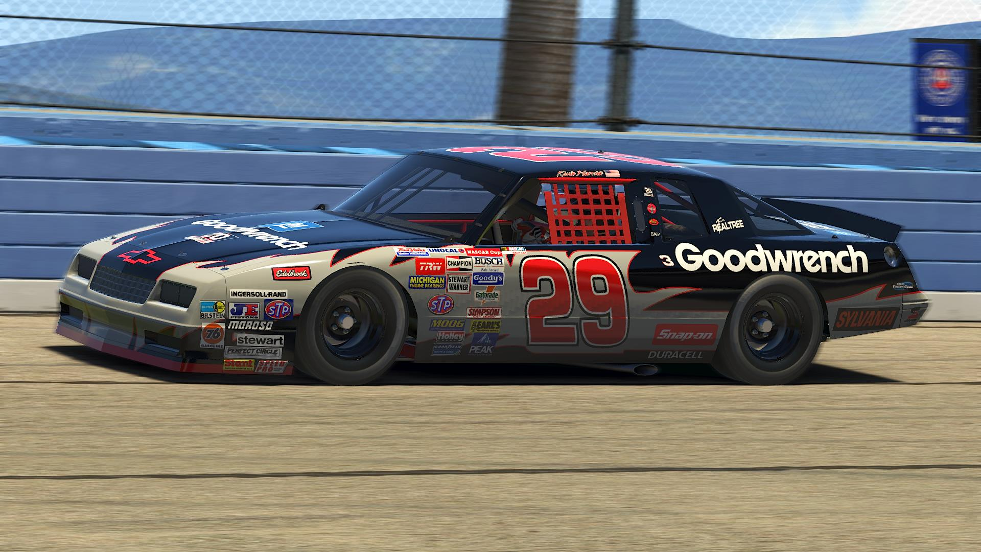 Preview of Kevin Harvick 1987 Goodwrench by Ryan Bey