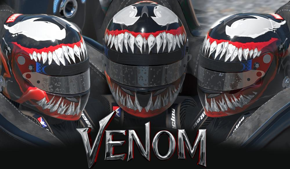 Preview of Venom II Marvel Helmet by Daniel R.