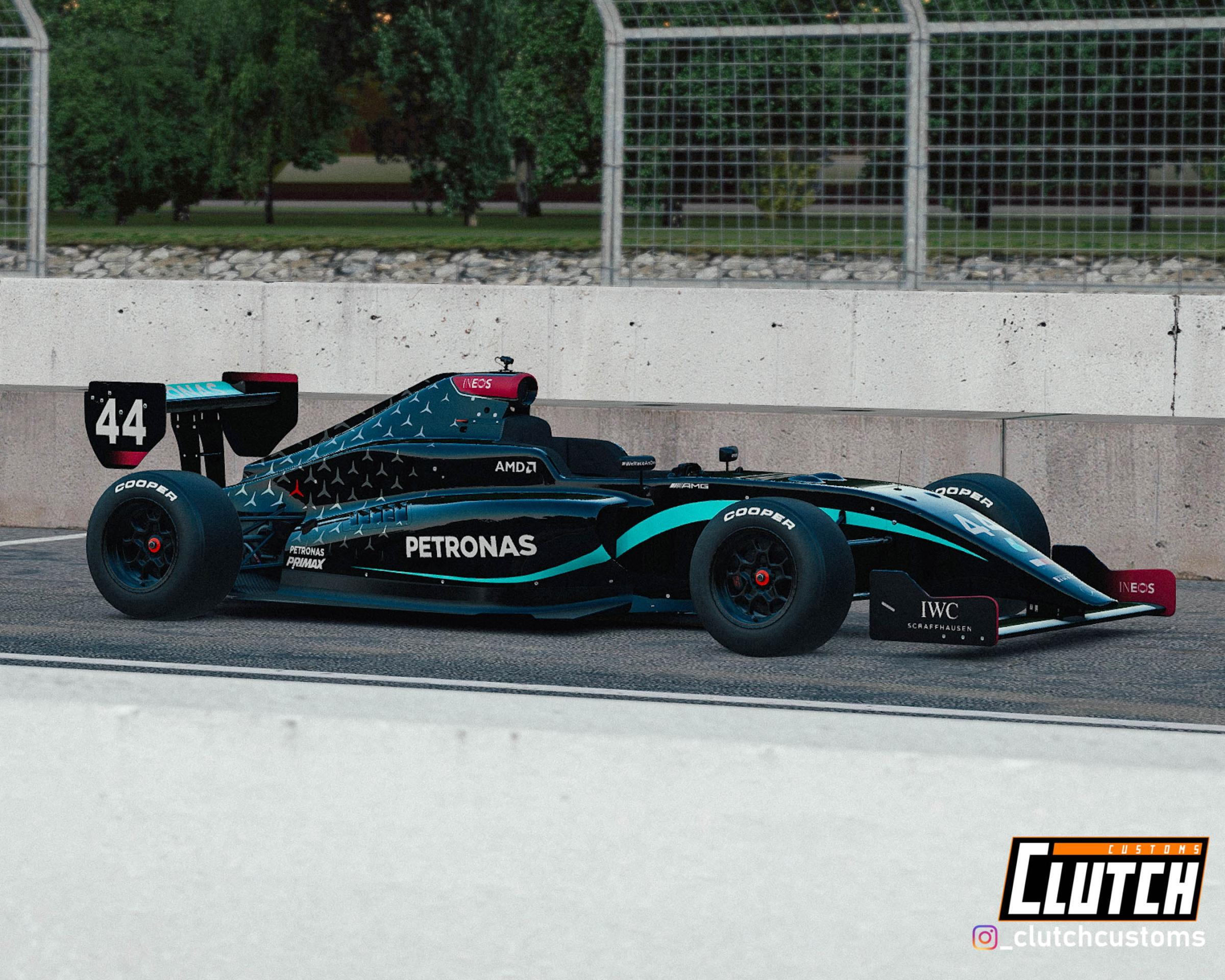 Preview of Mercedes W11 PM-18 - Black Edition by Matthew D.